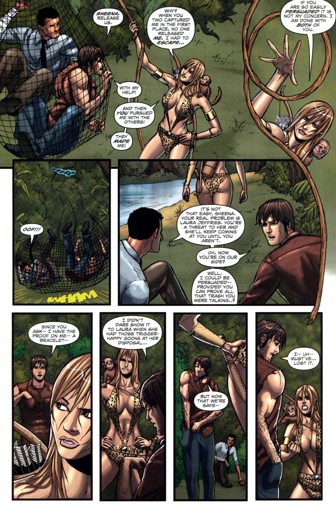 Read online Sheena, Queen of the Jungle comic -  Issue #5 - 9