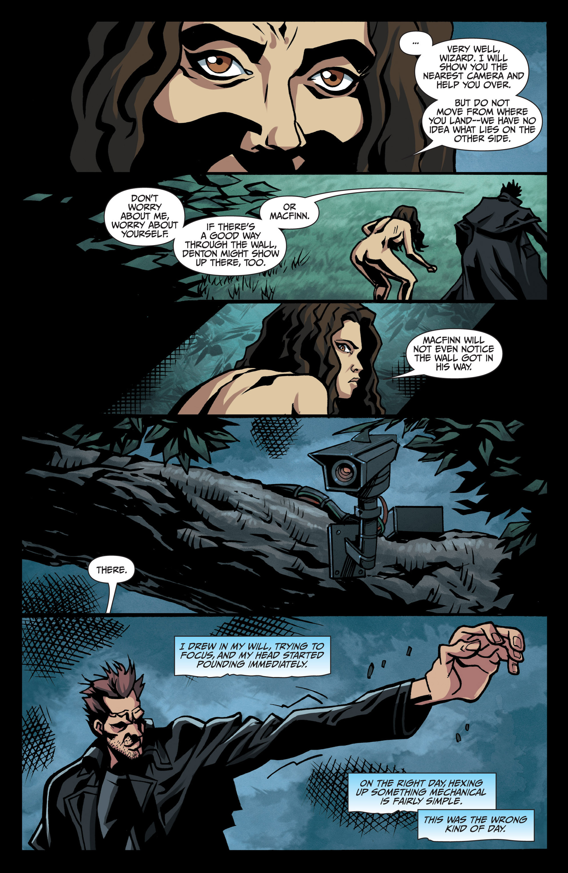 Read online Jim Butcher's The Dresden Files: Fool Moon comic -  Issue #7 - 22