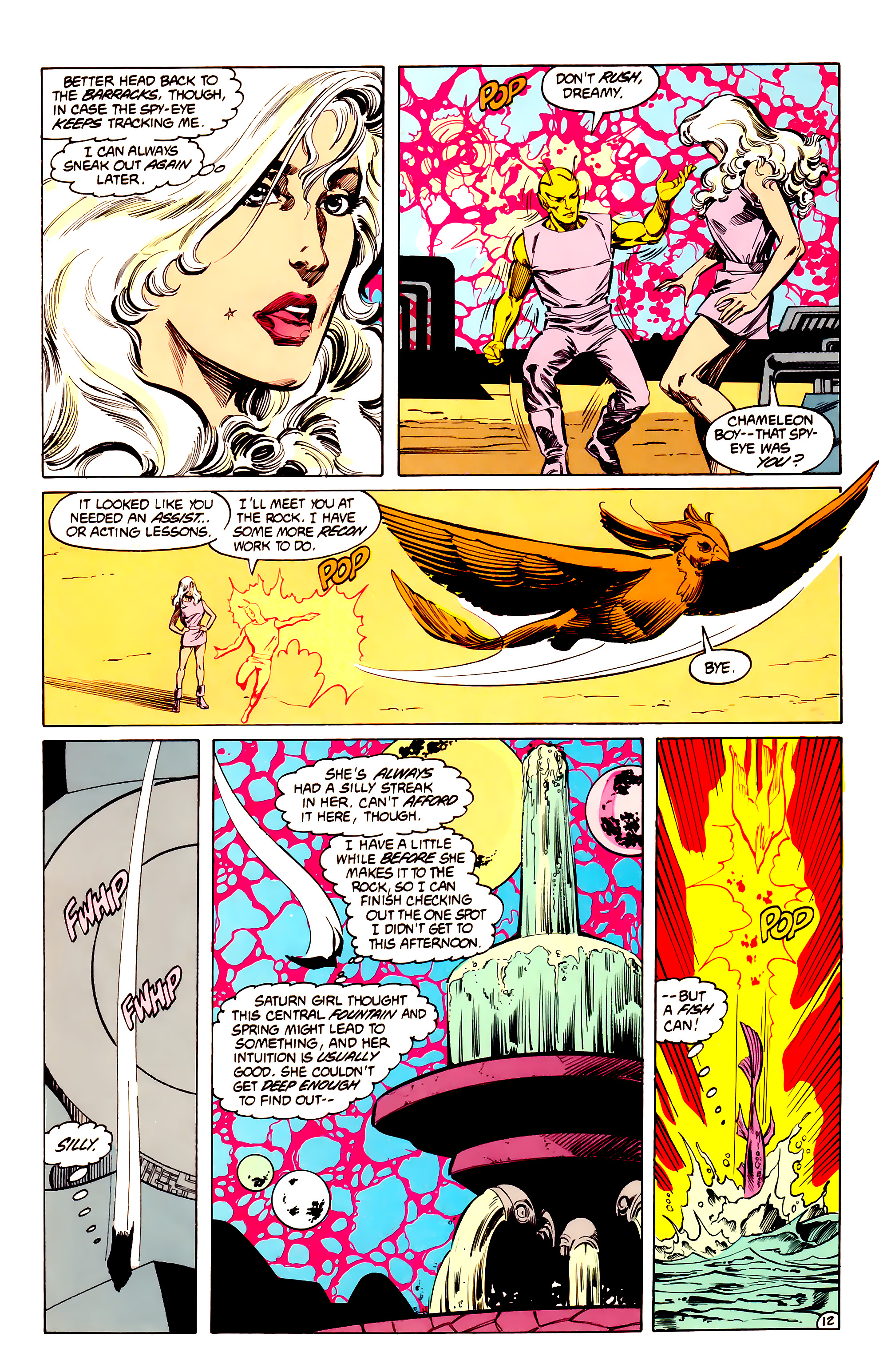 Legion of Super-Heroes (1984) 33 Page 12