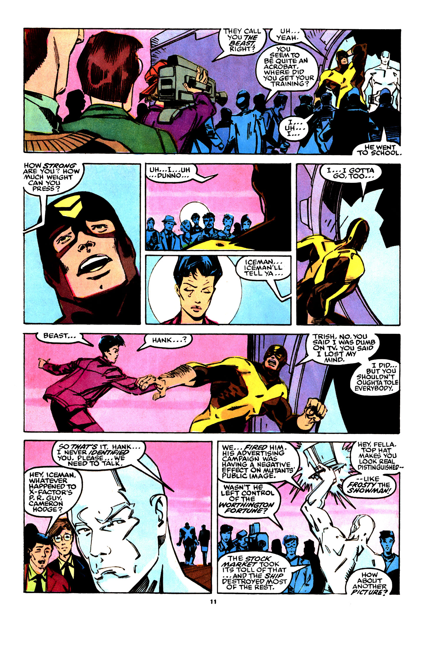 Read online X-Factor (1986) comic -  Issue #29 - 9
