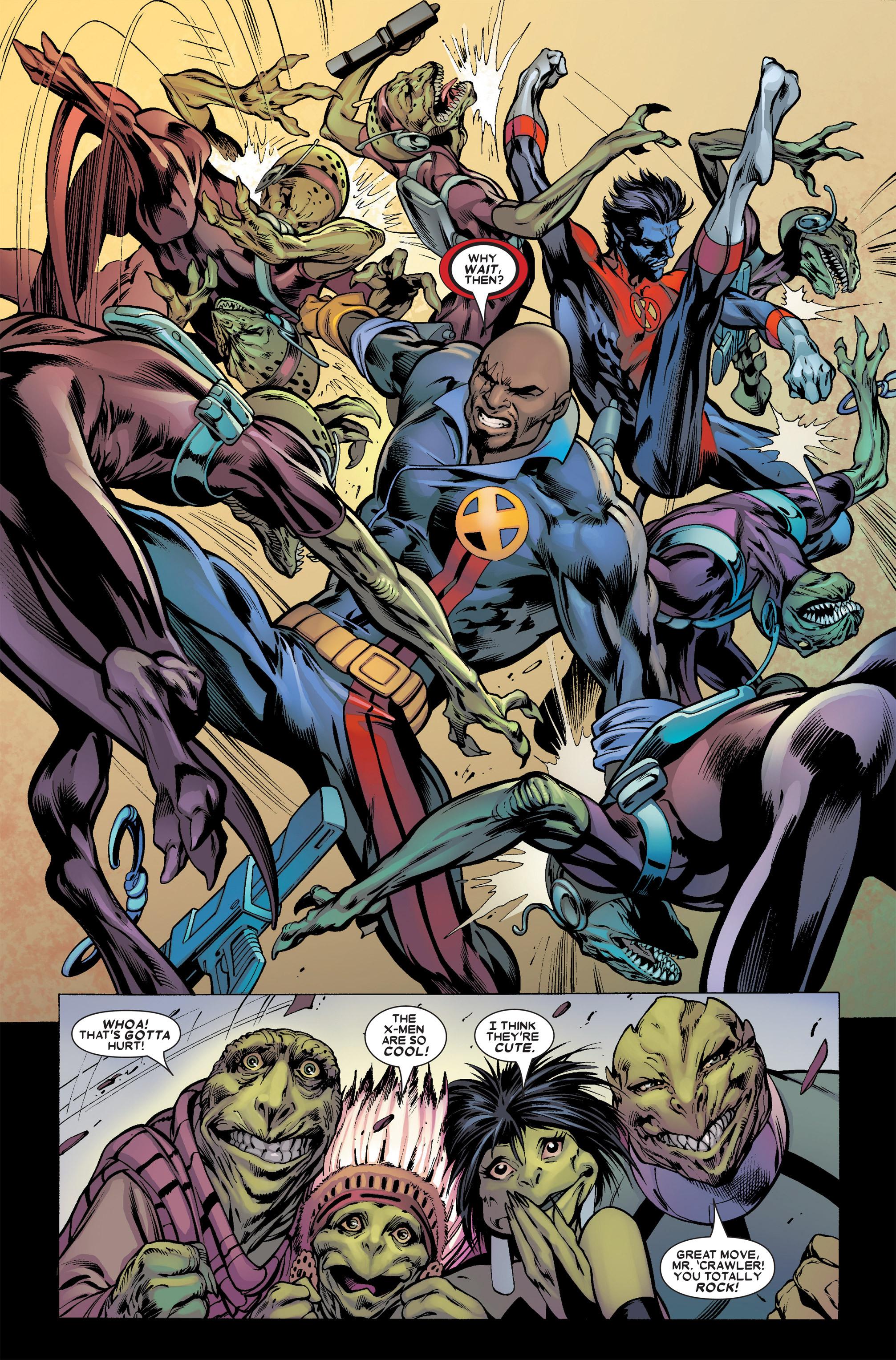 Read online Uncanny X-Men (1963) comic -  Issue #457 - 18