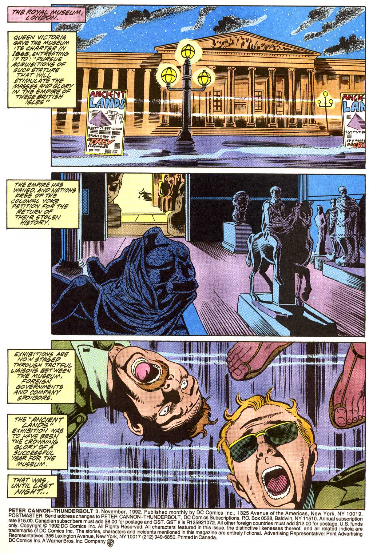 Read online Peter Cannon--Thunderbolt (1992) comic -  Issue #3 - 2
