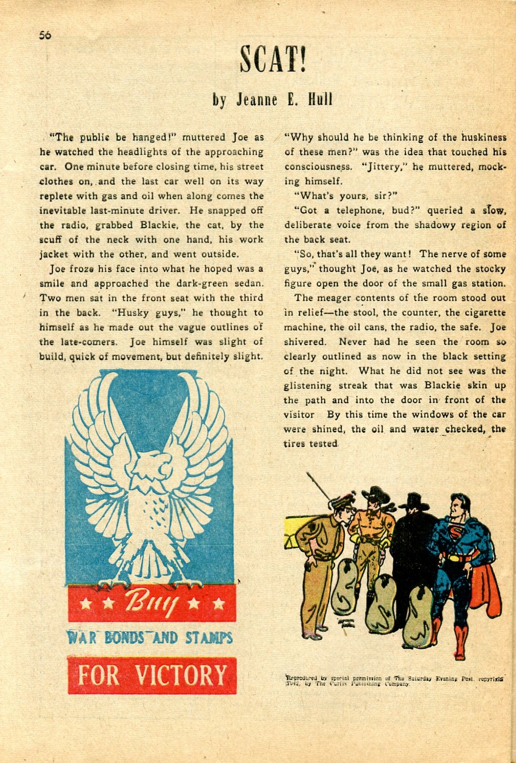 Read online Shadow Comics comic -  Issue #24 - 48