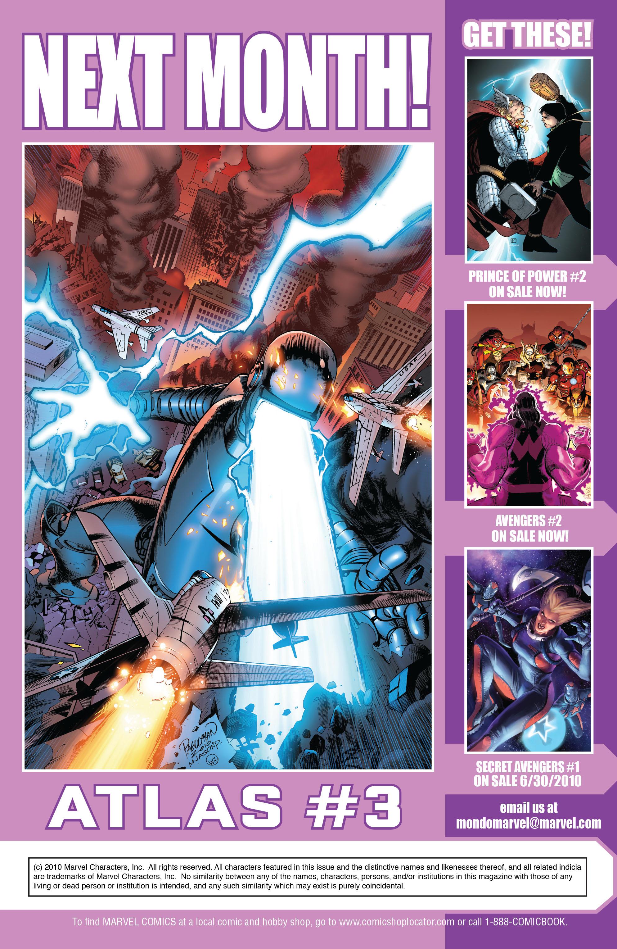 Read online Atlas comic -  Issue #2 - 25