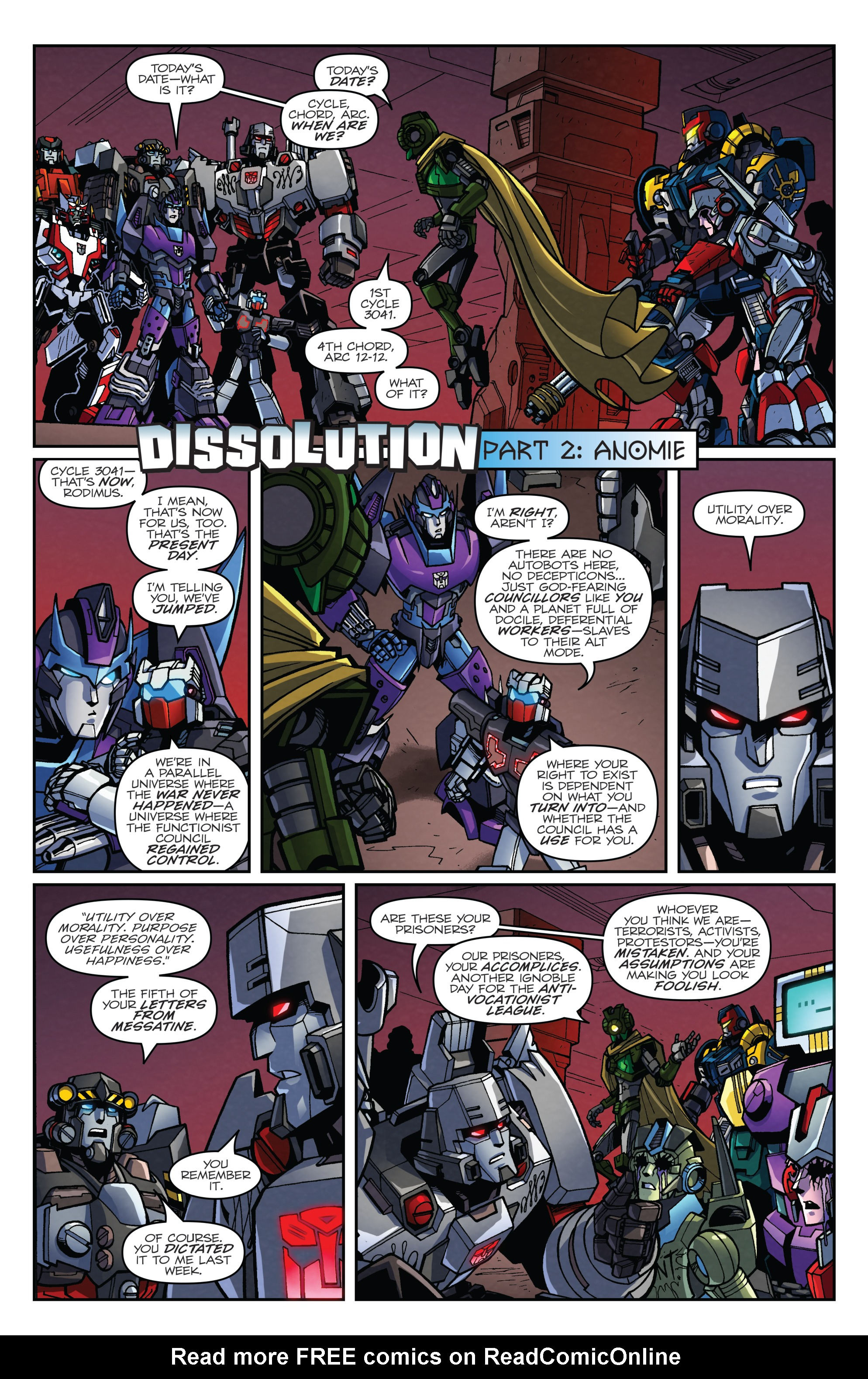 Read online Transformers: Lost Light comic -  Issue #2 - 3