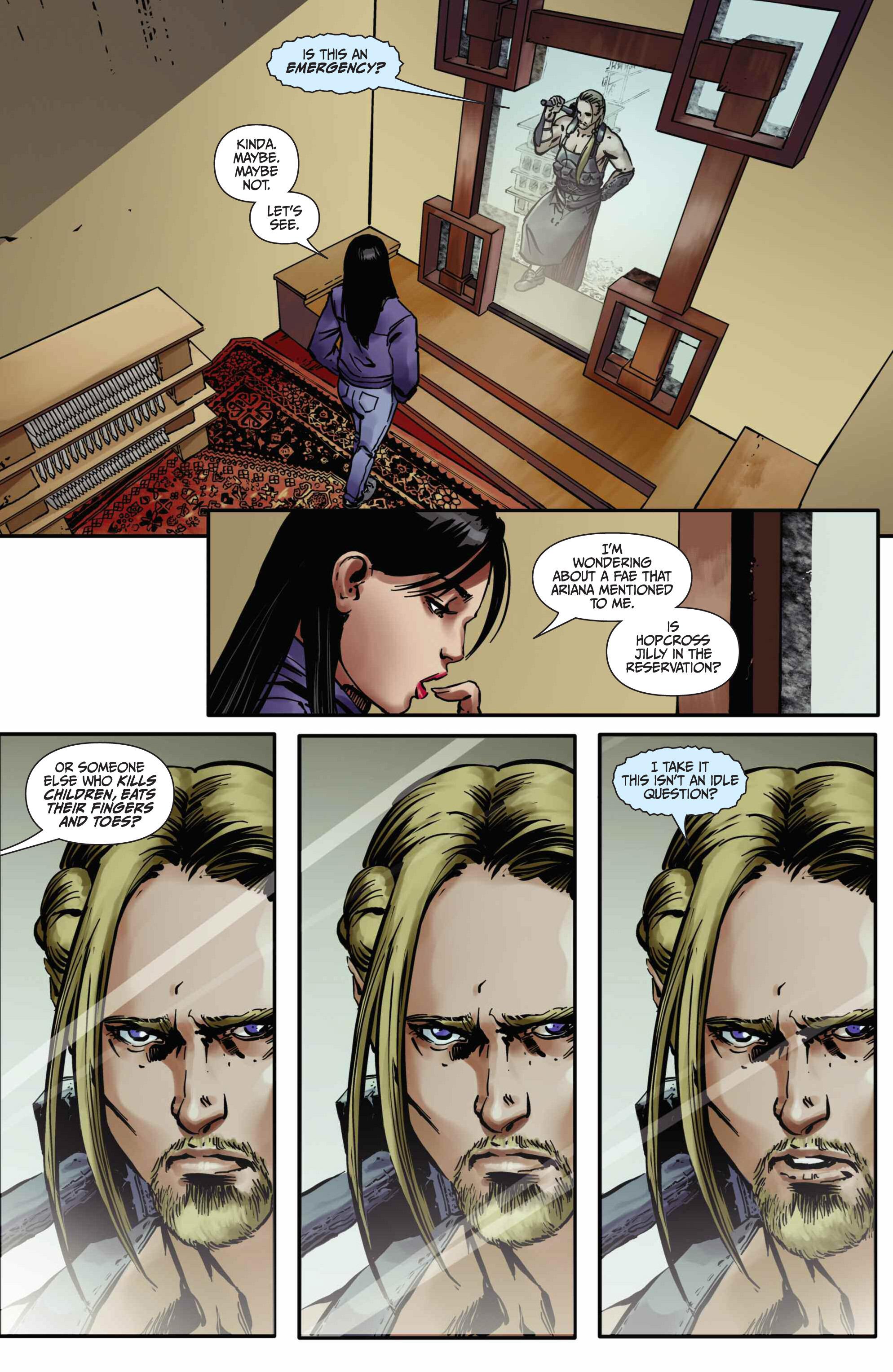 Read online Mercy Thompson comic -  Issue #5 - 12