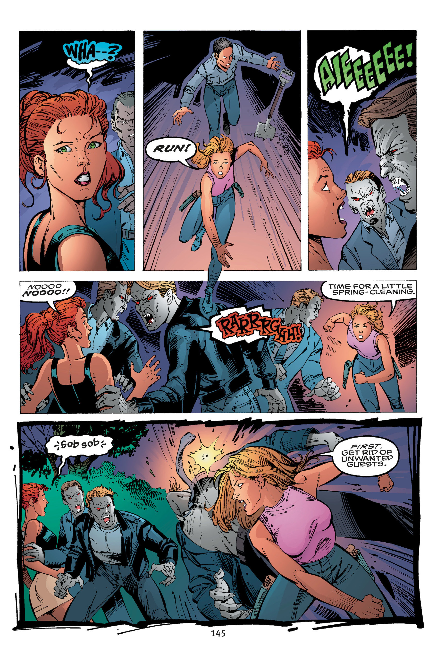 Read online Buffy the Vampire Slayer: Omnibus comic -  Issue # TPB 3 - 140