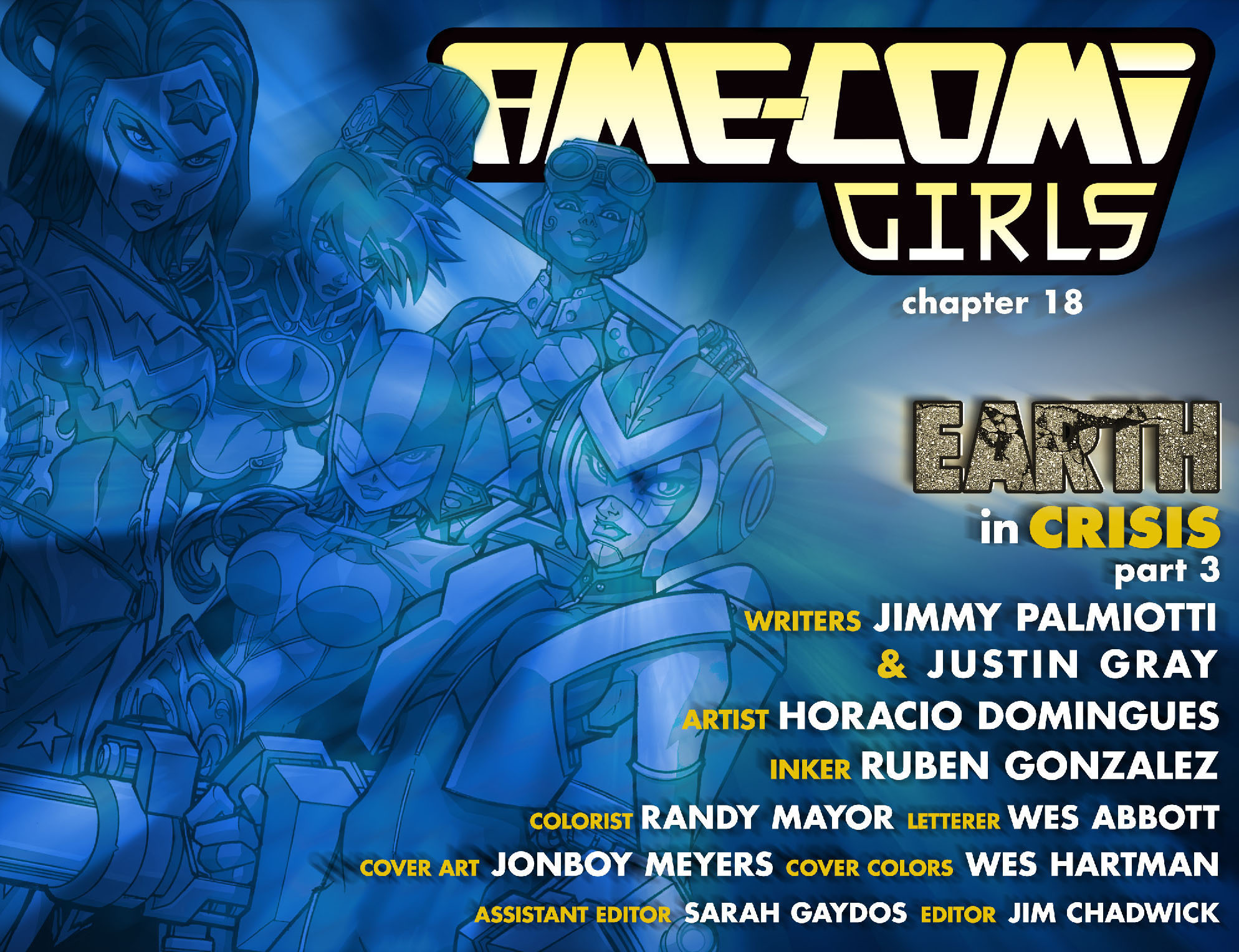 Read online Ame-Comi Girls comic -  Issue #18 - 2