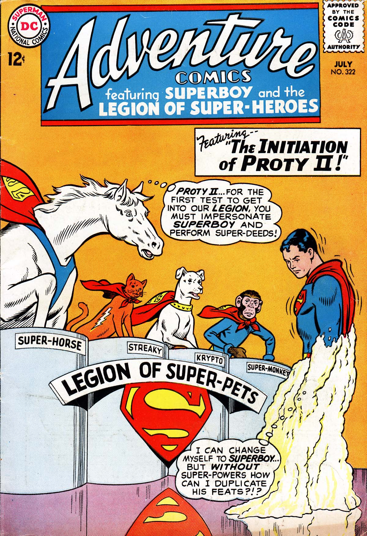Read online Adventure Comics (1938) comic -  Issue #322 - 1