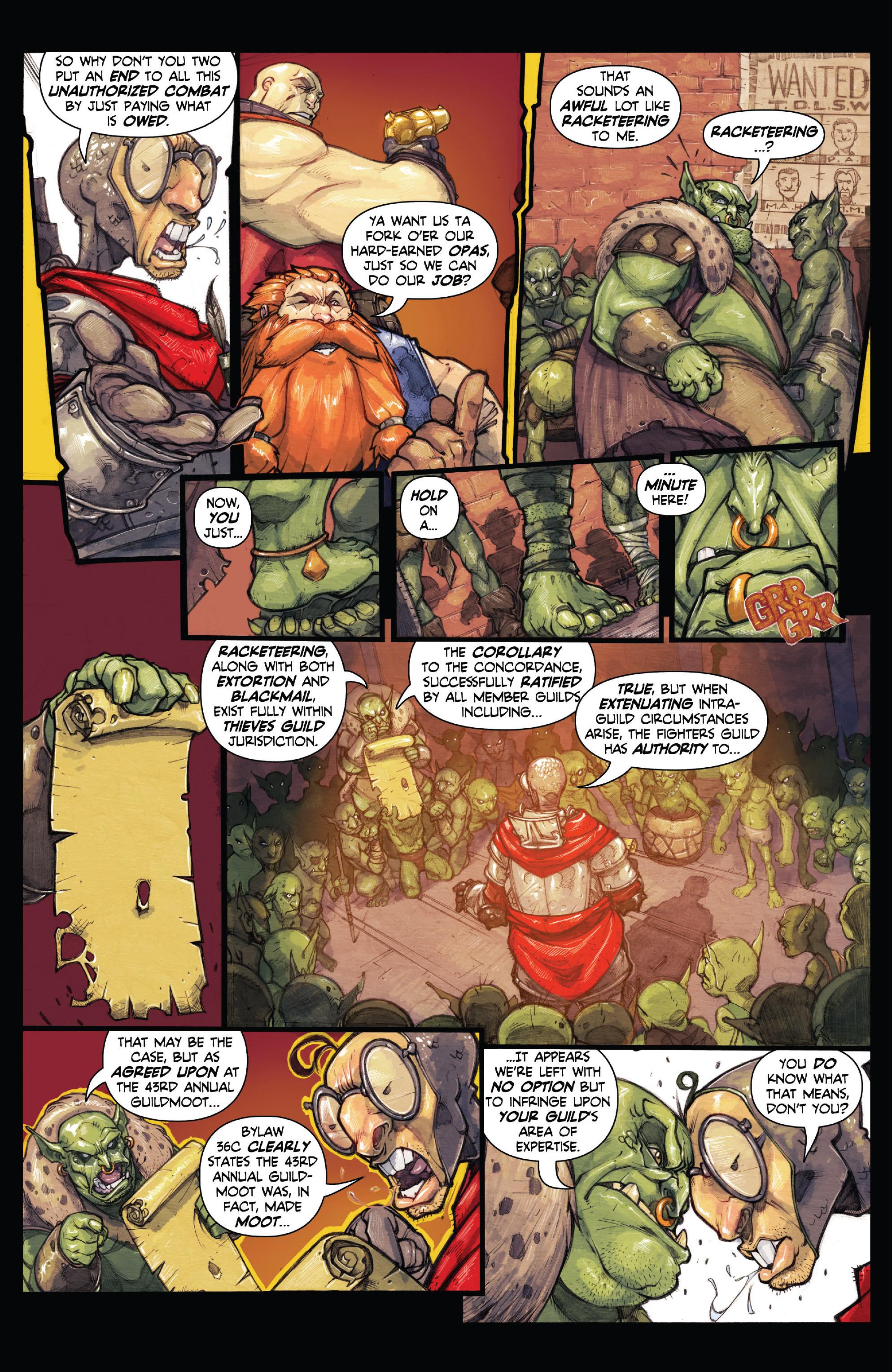 Read online Skullkickers comic -  Issue #18 - 35