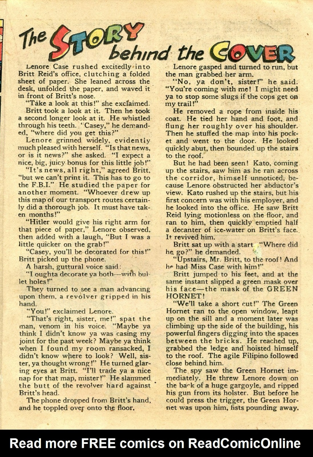 Green Hornet Comics issue 11 - Page 20