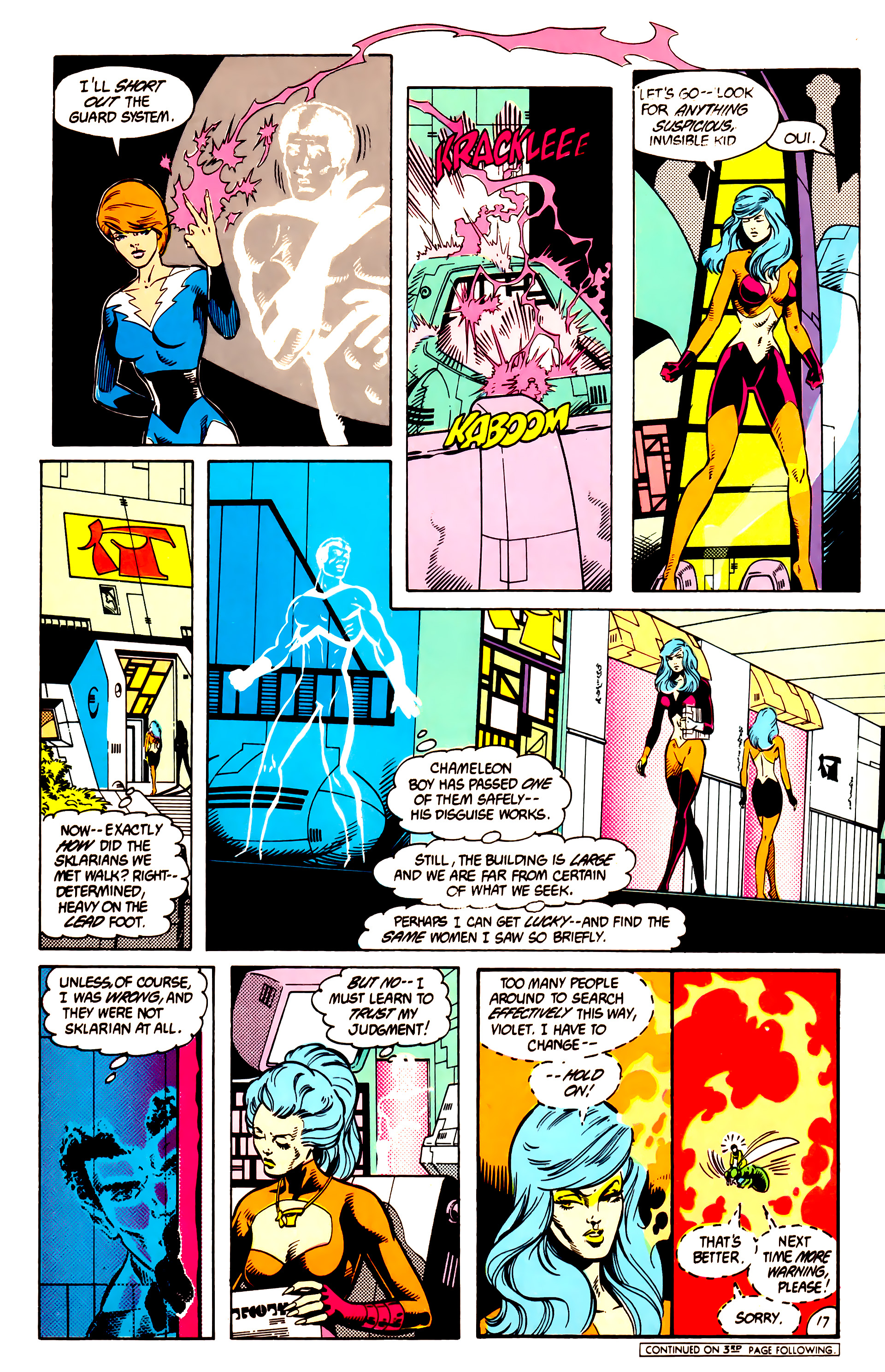 Legion of Super-Heroes (1984) 9 Page 18