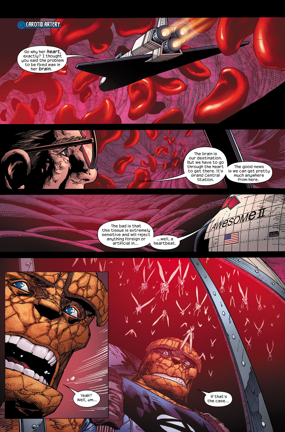 Read online Ultimate Fantastic Four (2004) comic -  Issue #59 - 11