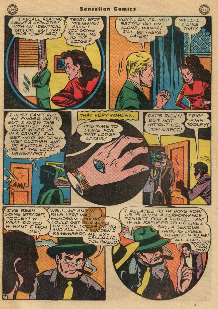 Read online Sensation (Mystery) Comics comic -  Issue #49 - 24