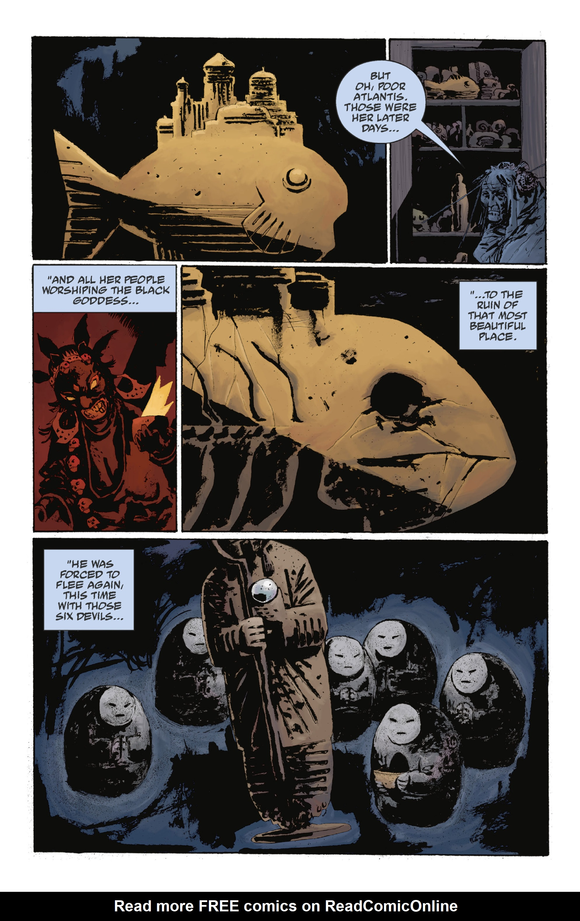 Read online Abe Sapien: The Drowning comic -  Issue #Abe Sapien: The Drowning _TPB - 101