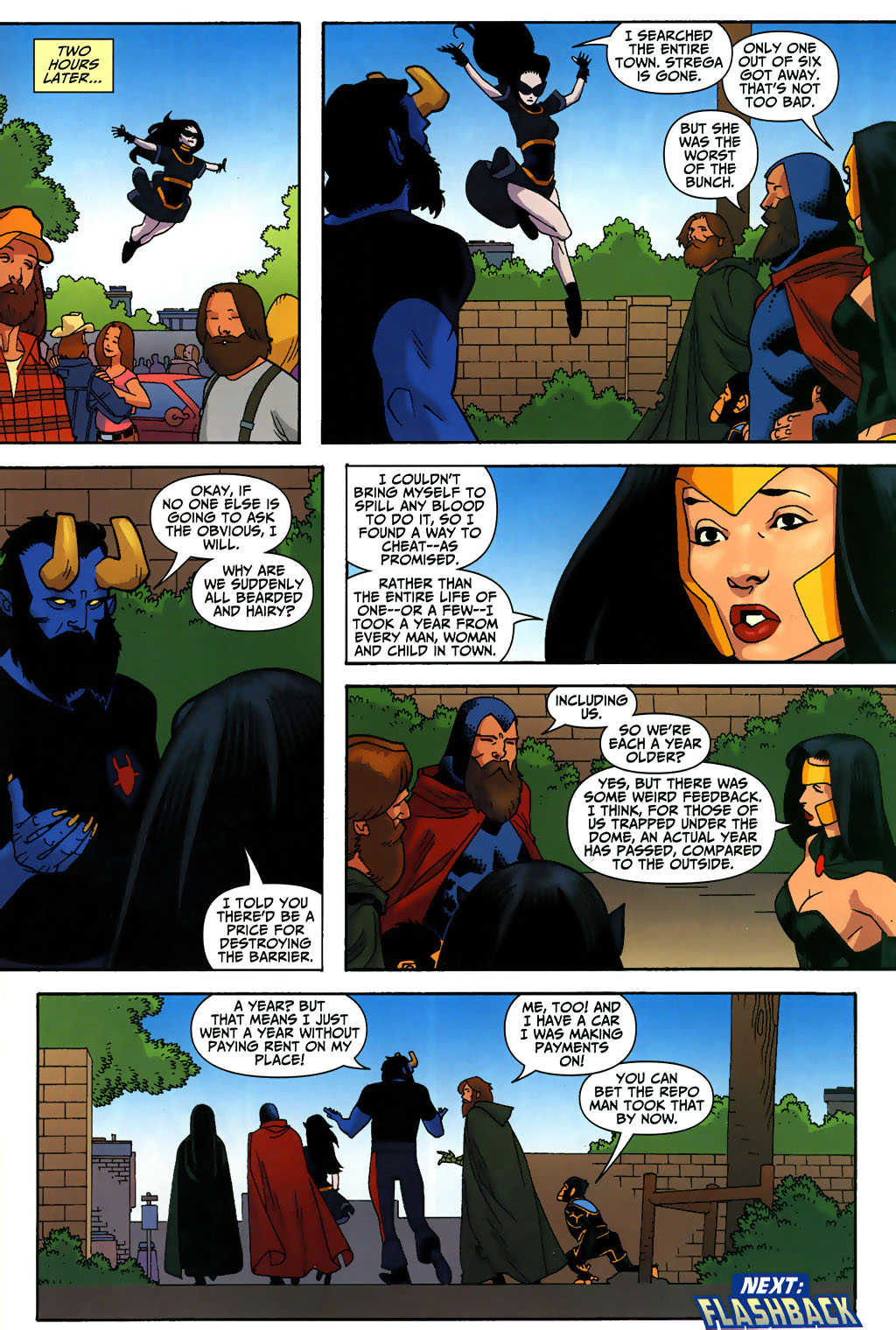 Read online Shadowpact comic -  Issue #3 - 22