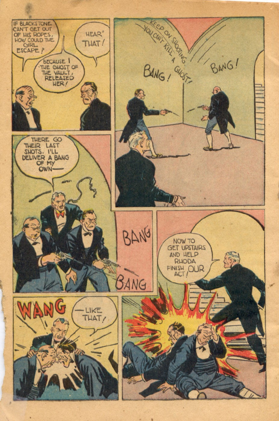 Read online Super-Magician Comics comic -  Issue #43 - 48