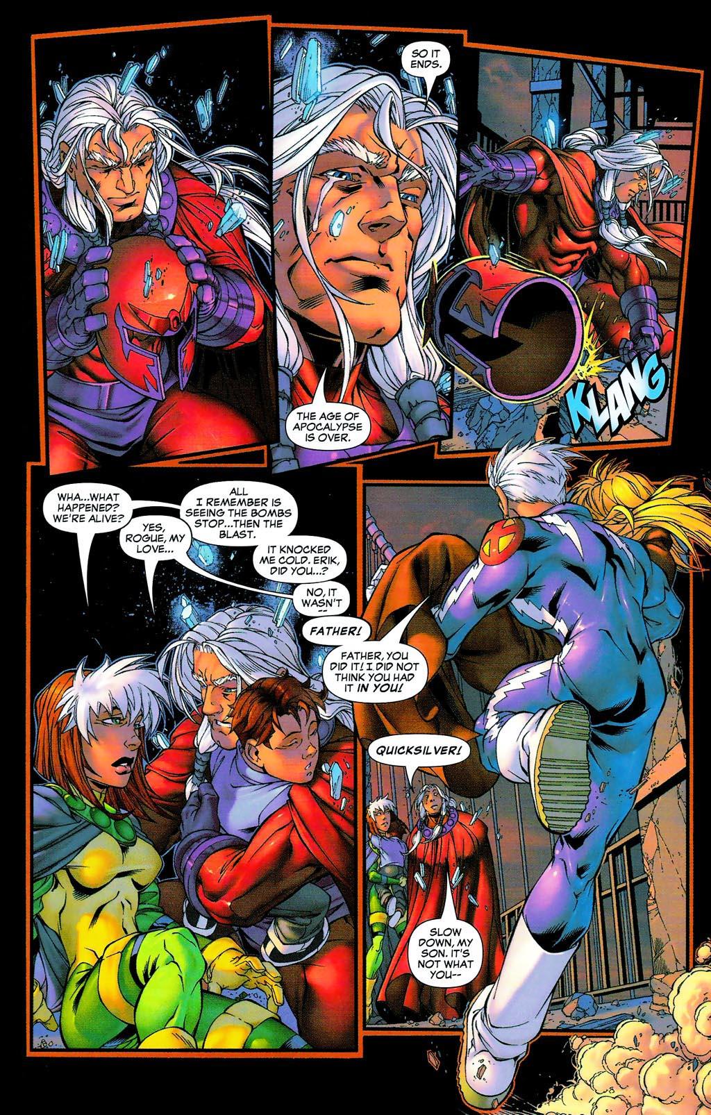 Read online Age of Apocalypse (2005) comic -  Issue #0 - 29