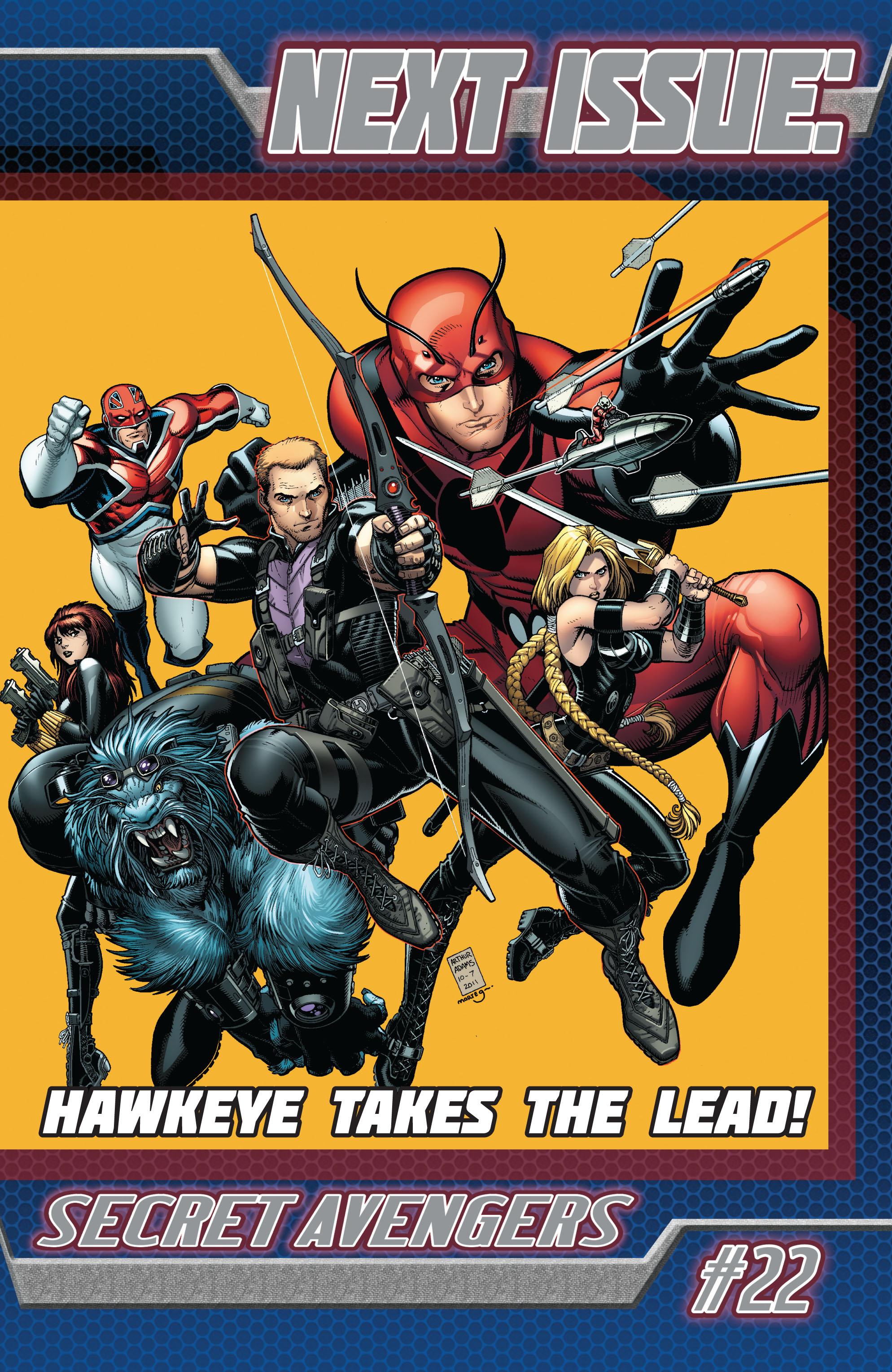 Read online Secret Avengers (2010) comic -  Issue #21.1 - 23