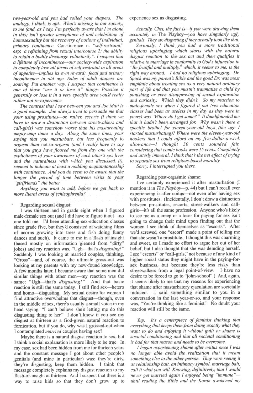 Cerebus Issue #296 #294 - English 33