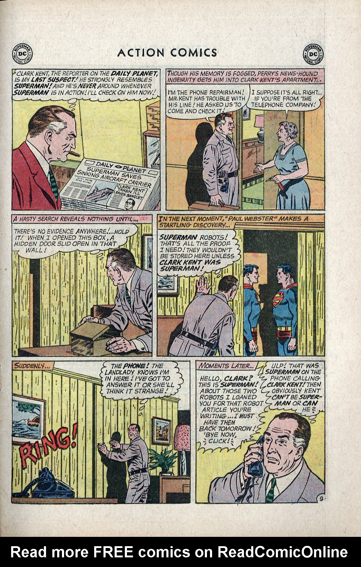 Read online Action Comics (1938) comic -  Issue #297 - 11