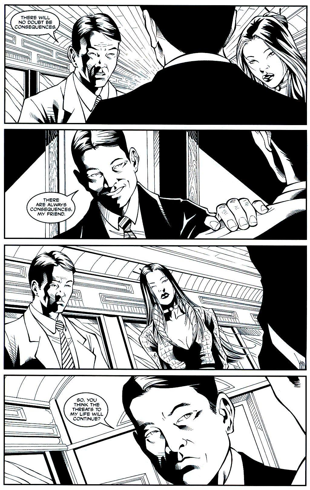 Read online Shi: Sempo comic -  Issue #1 - 21