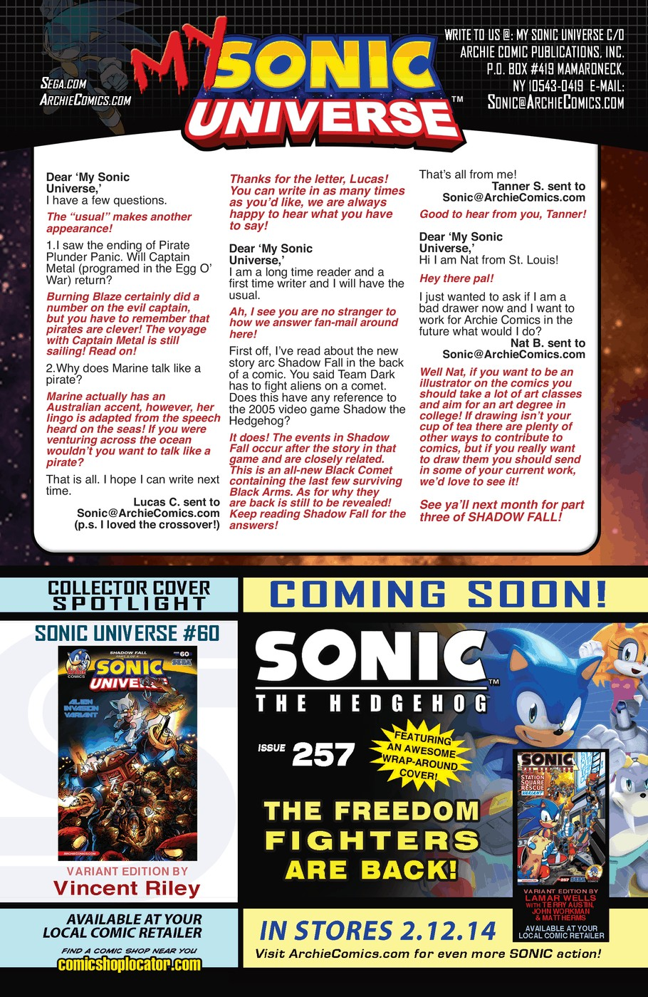 Read online Sonic Universe comic -  Issue #60 - 25