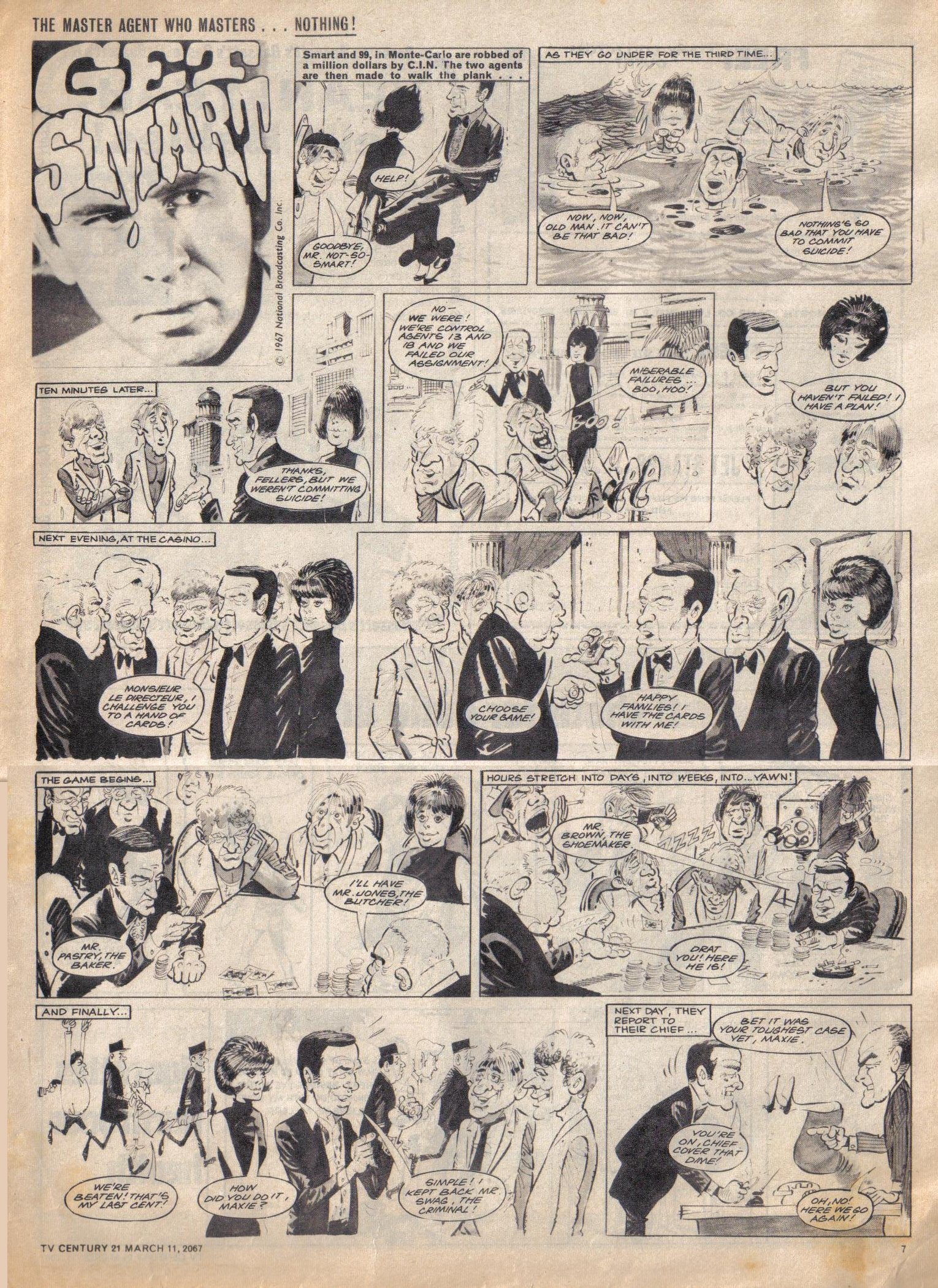 Read online TV Century 21 (TV 21) comic -  Issue #112 - 7