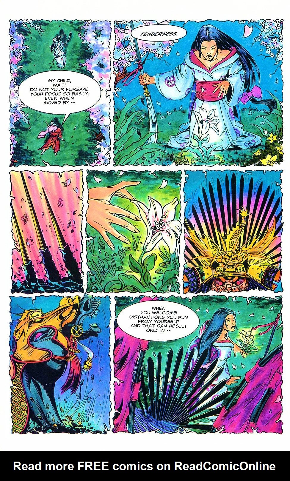 Read online Shi: The Way of the Warrior comic -  Issue #2 - 6