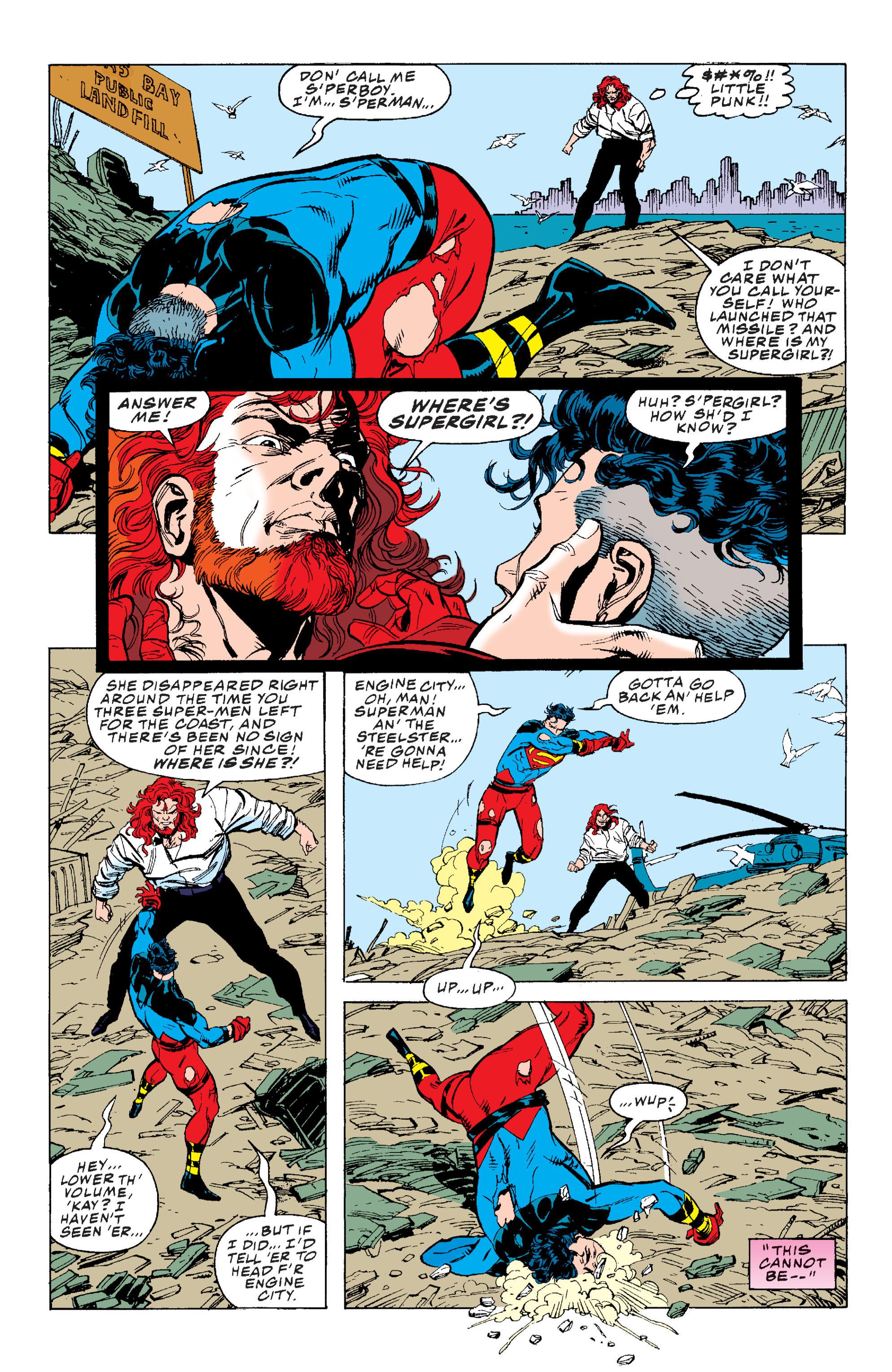 Superman: The Return of Superman TPB_2 Page 1