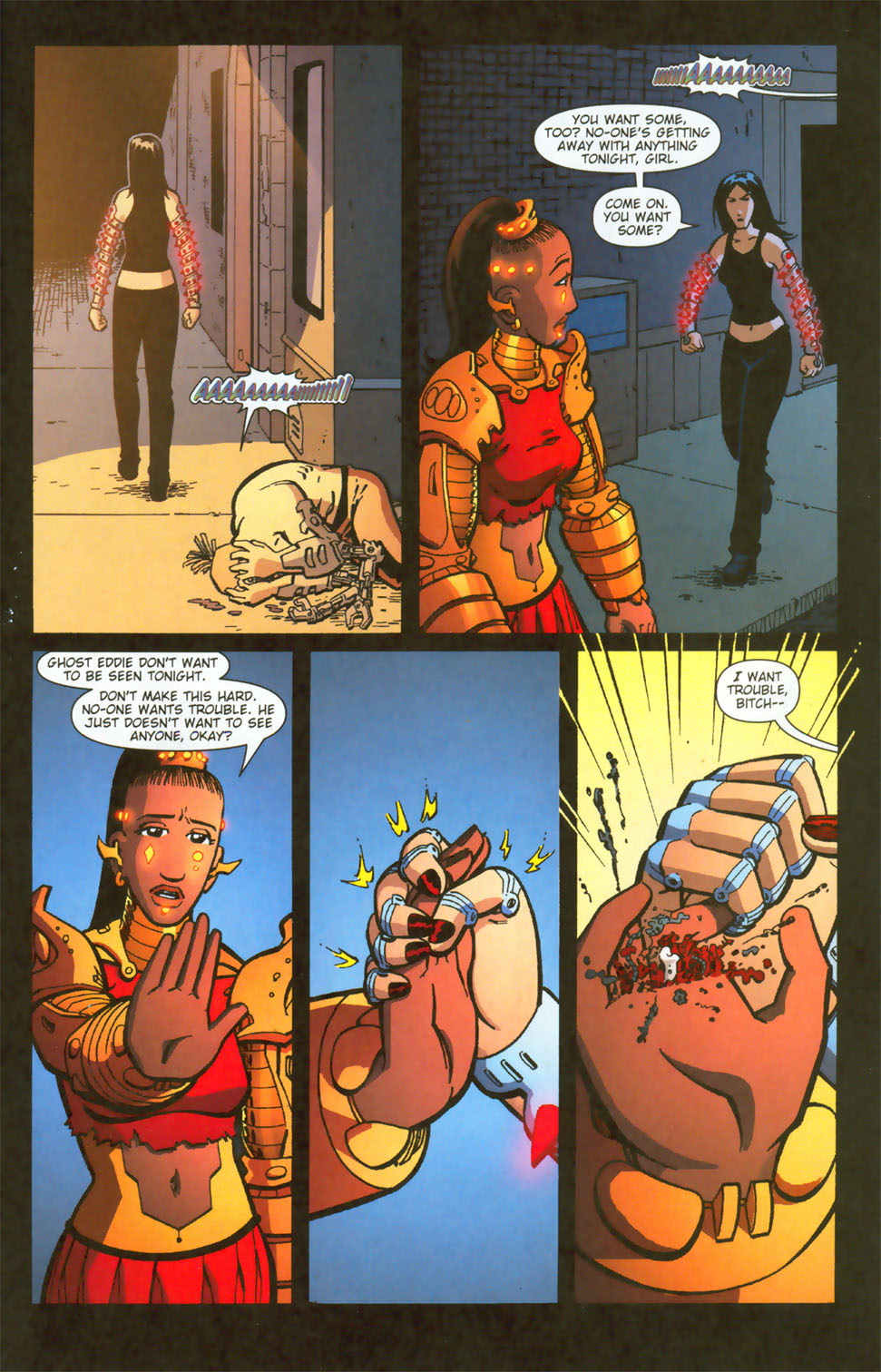 Read online Mek comic -  Issue #3 - 14