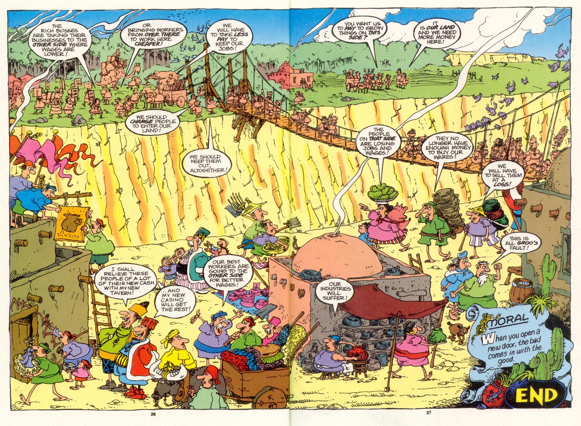 Read online Sergio Aragonés Groo the Wanderer comic -  Issue #102 - 28