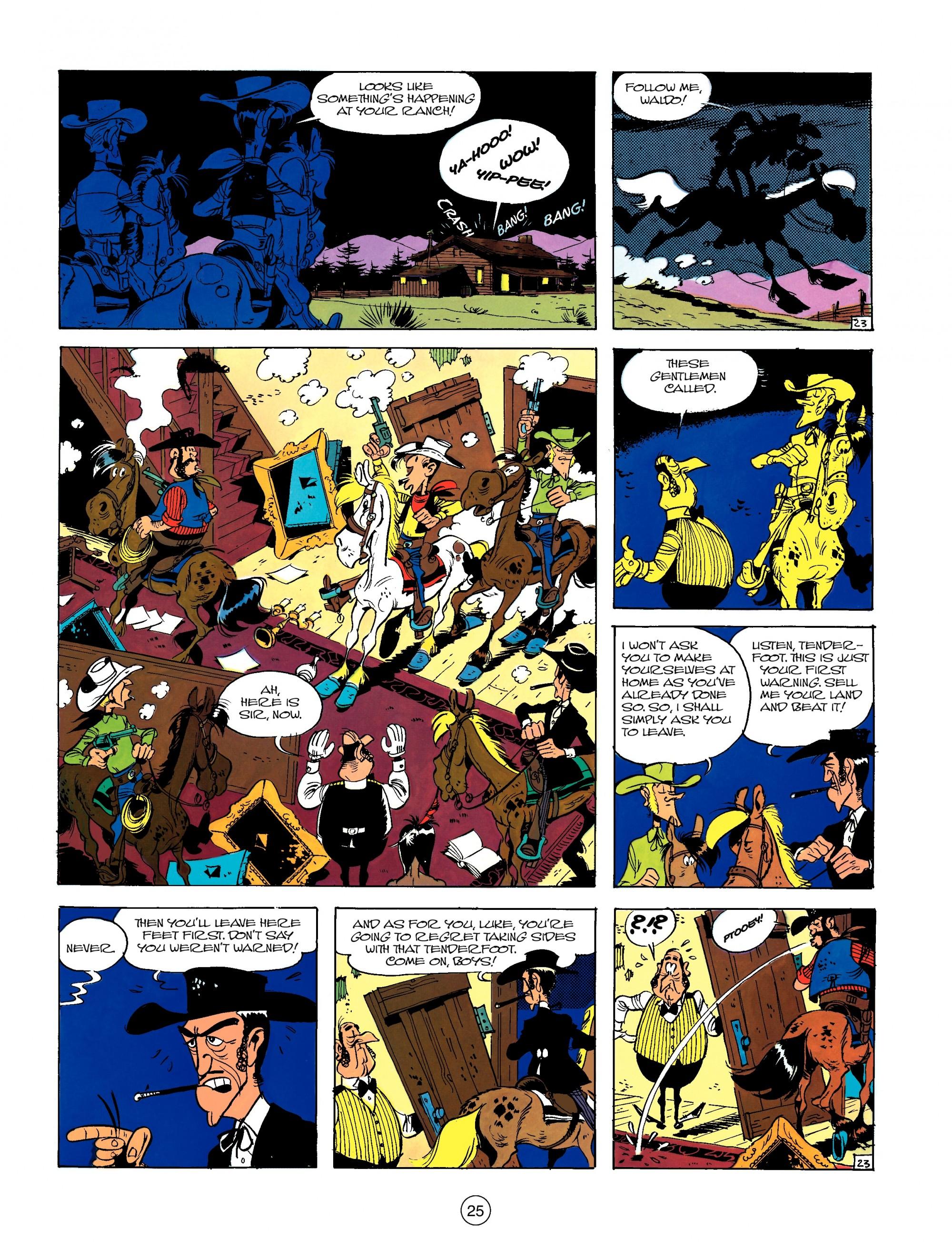 Read online A Lucky Luke Adventure comic -  Issue #13 - 25