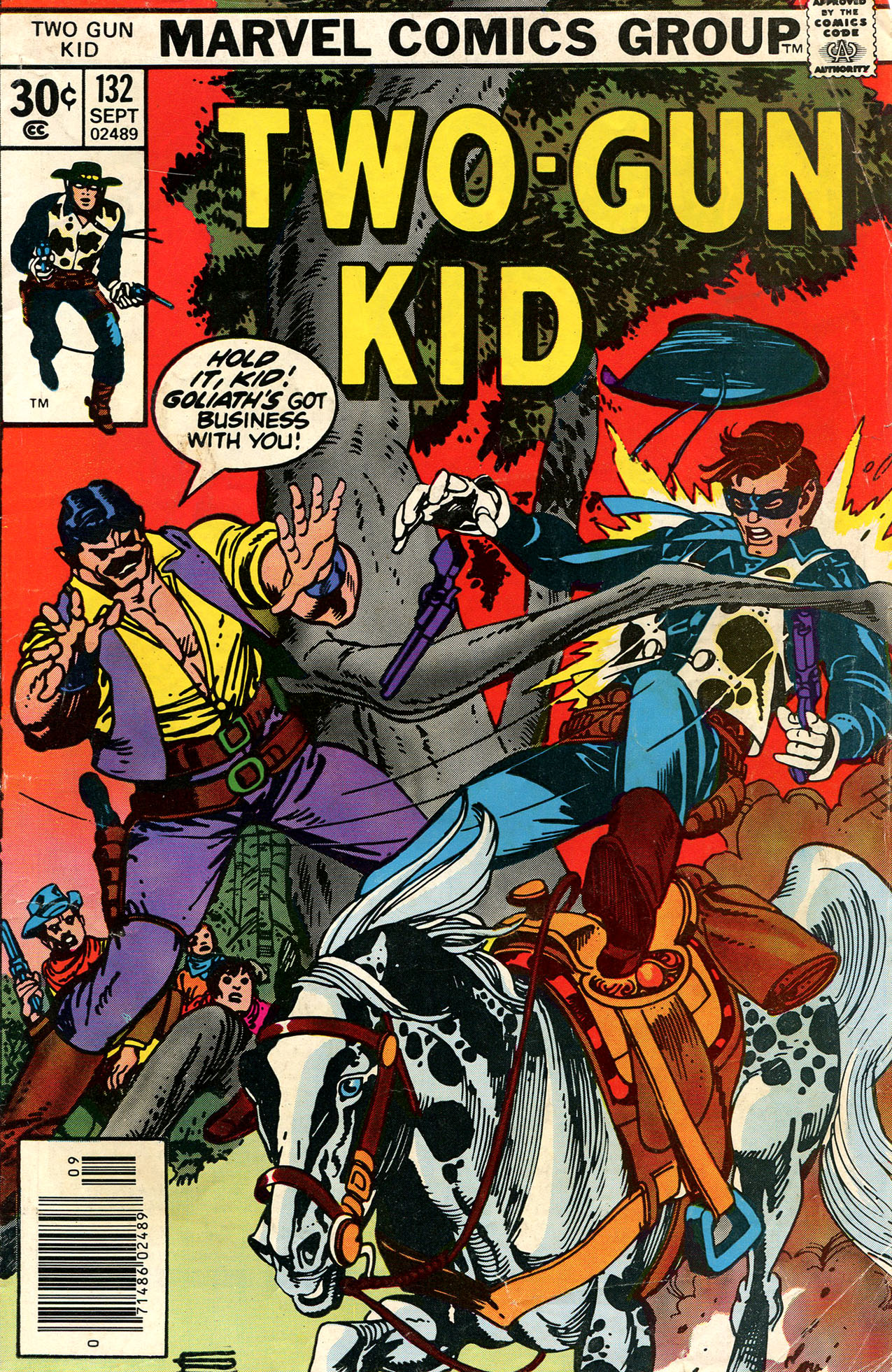 Read online Two-Gun Kid comic -  Issue #132 - 1