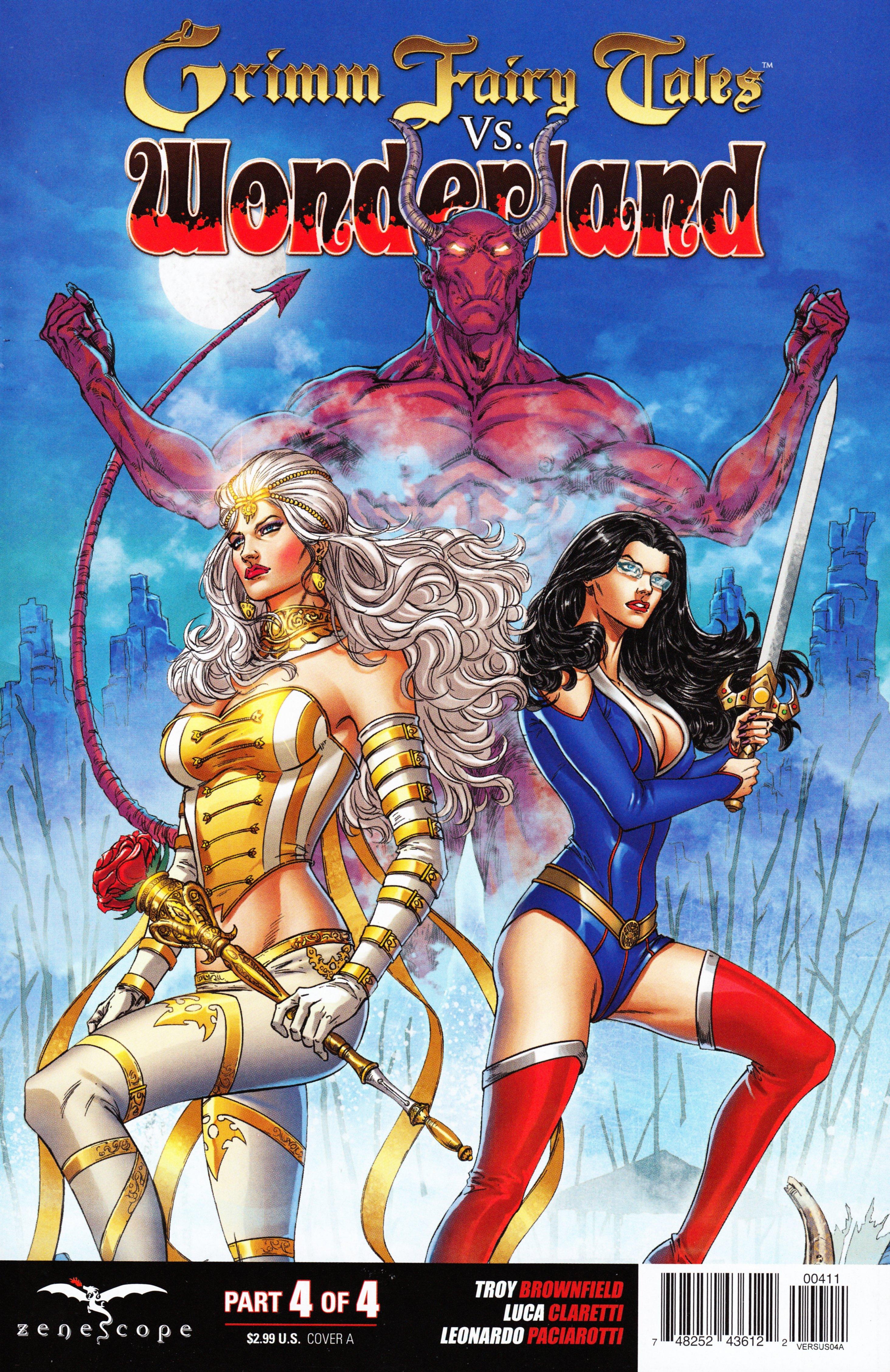 Read online Grimm Fairy Tales vs. Wonderland comic -  Issue #4 - 1