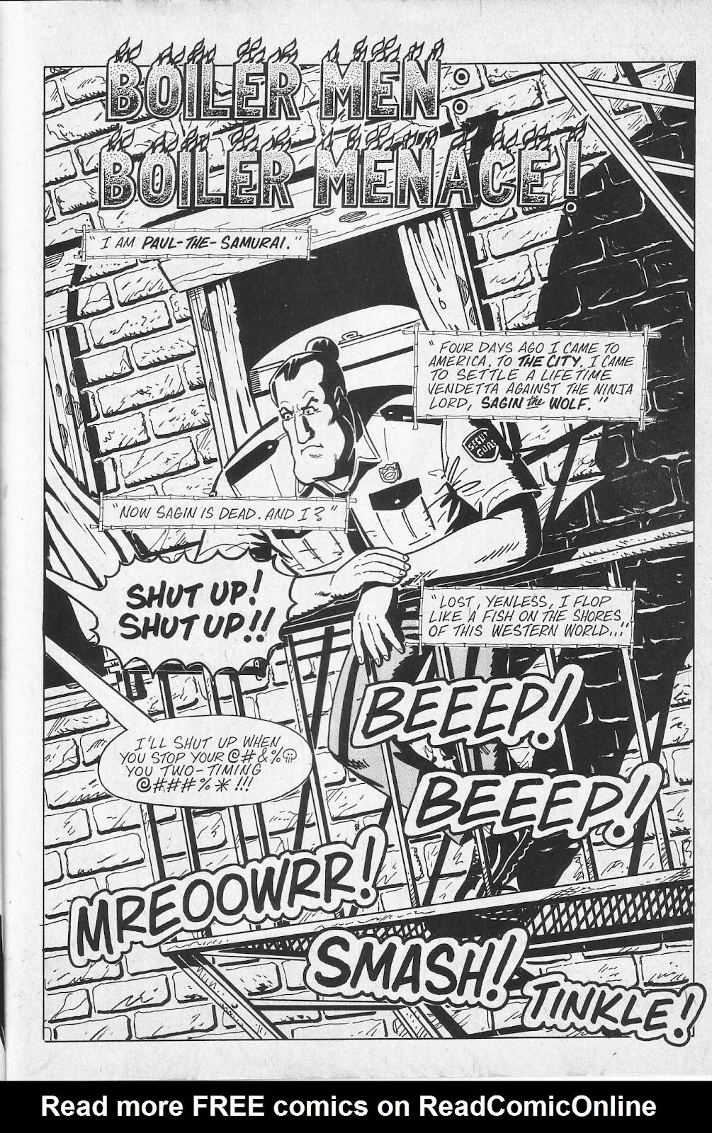 Read online Paul the Samurai (1991) comic -  Issue # TPB - 7