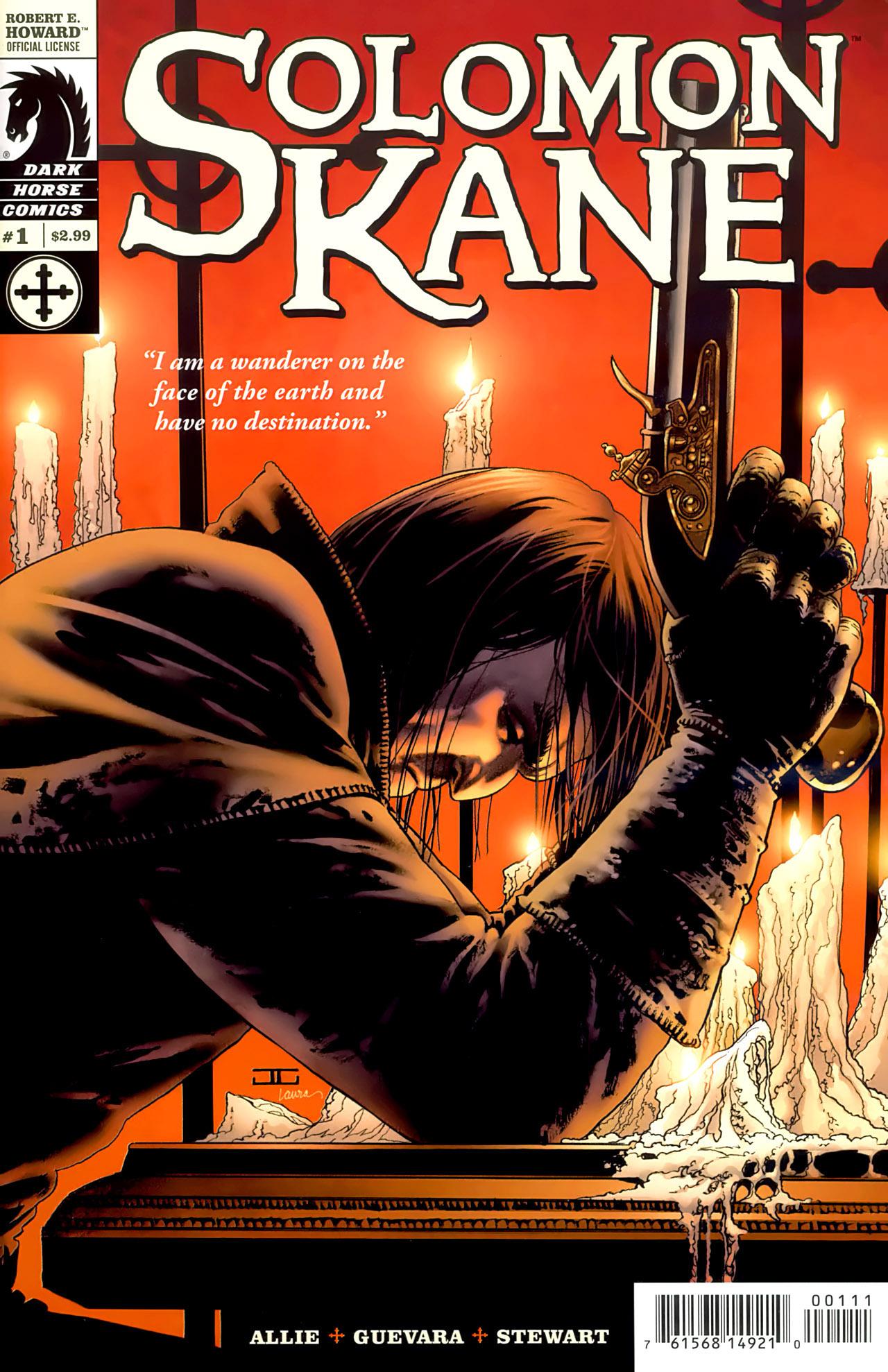 Read online Solomon Kane comic -  Issue #1 - 1