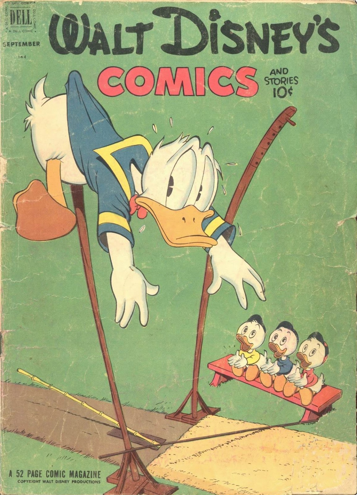 Walt Disney's Comics and Stories issue 144 - Page 1