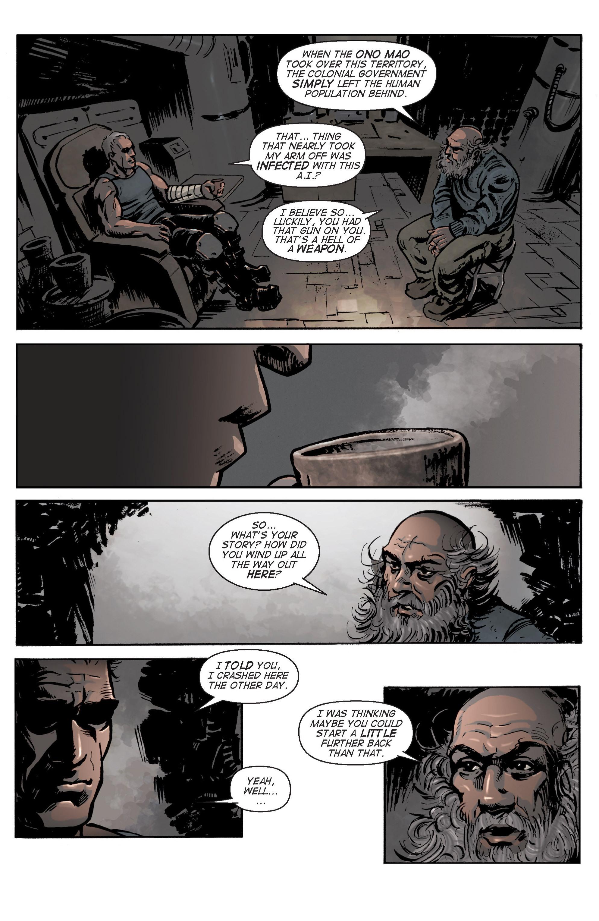 Read online Planetoid comic -  Issue # TPB - 34