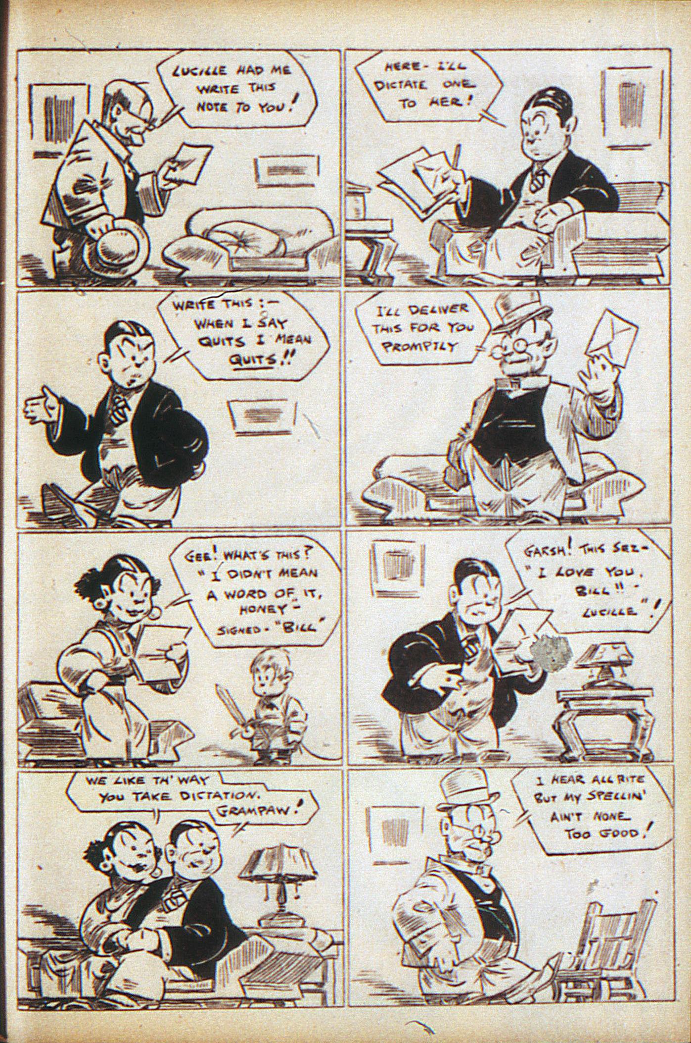 Read online Adventure Comics (1938) comic -  Issue #10 - 42