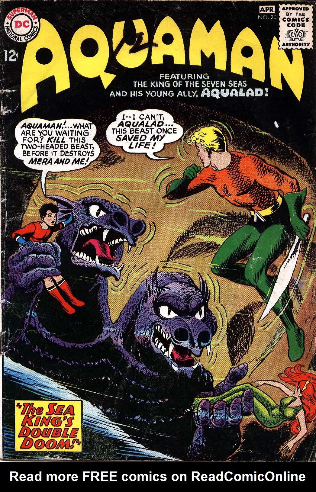 Read online Aquaman (1962) comic -  Issue #20 - 1