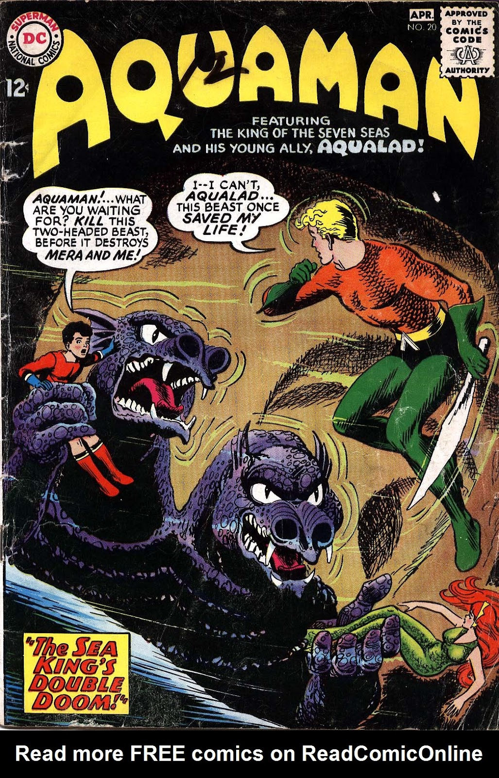 Aquaman (1962) Issue #20 #20 - English 1