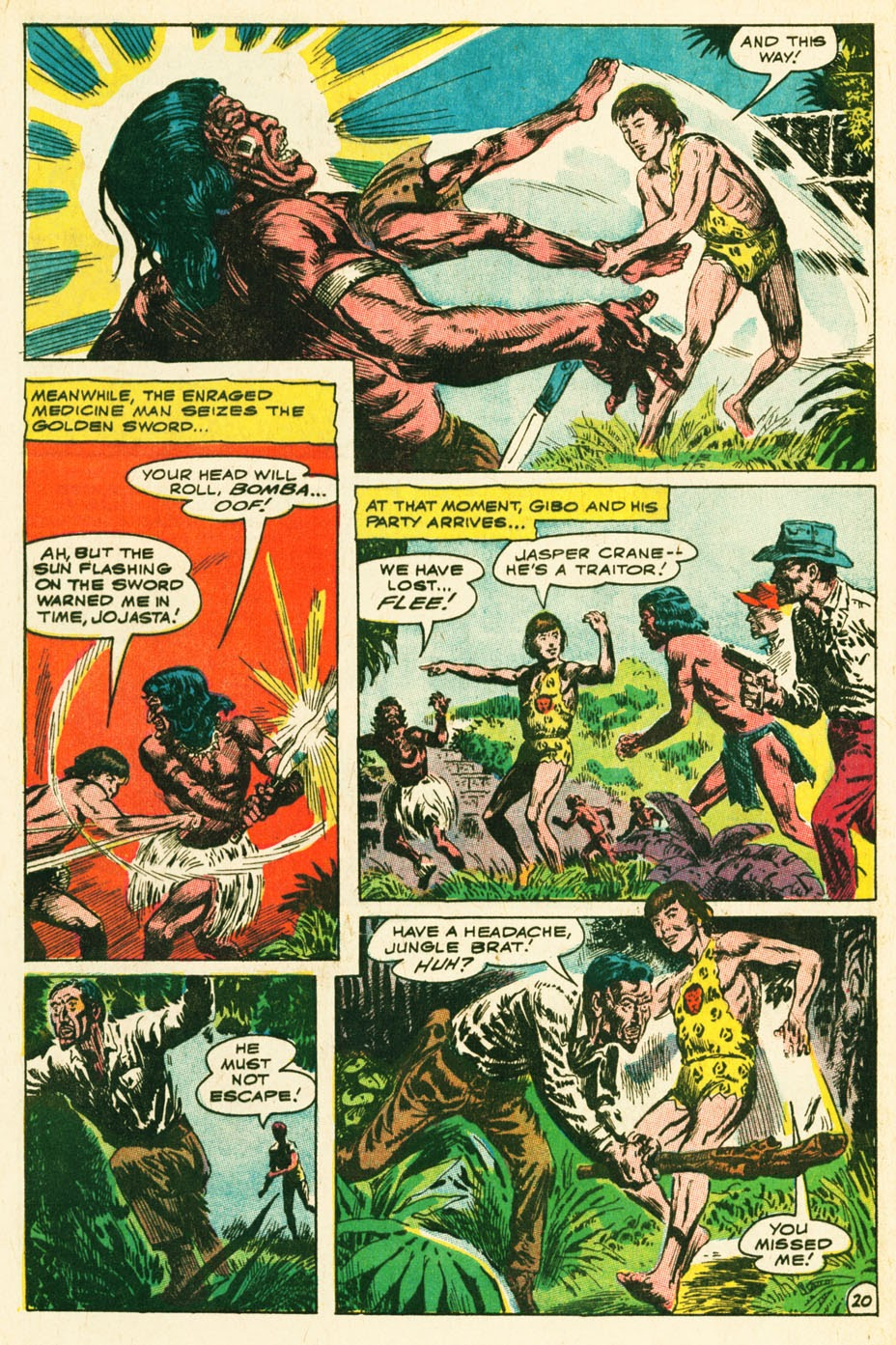 Bomba, The Jungle Boy issue 1 - Page 26