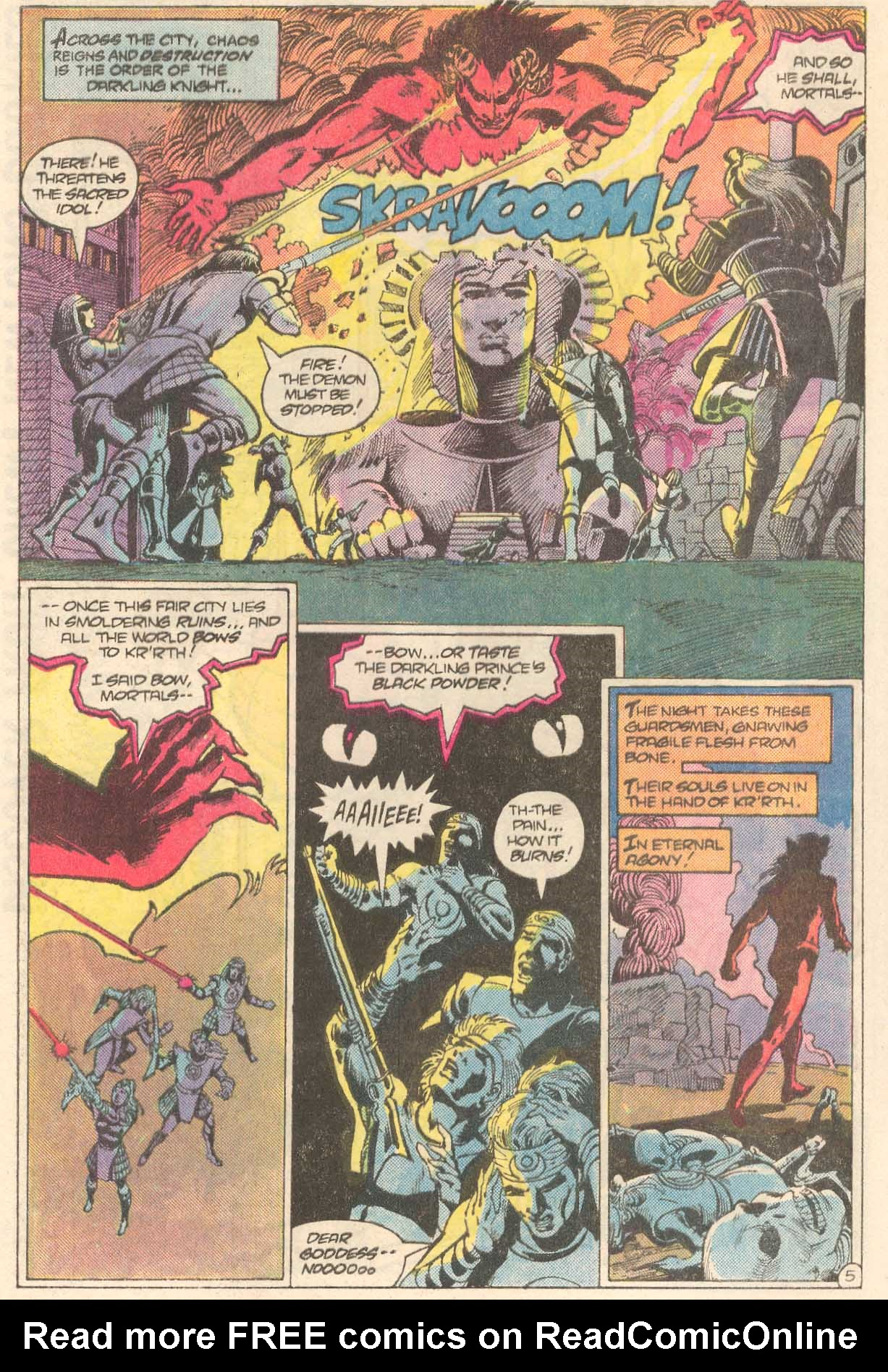 Read online Arion, Lord of Atlantis comic -  Issue #27 - 6