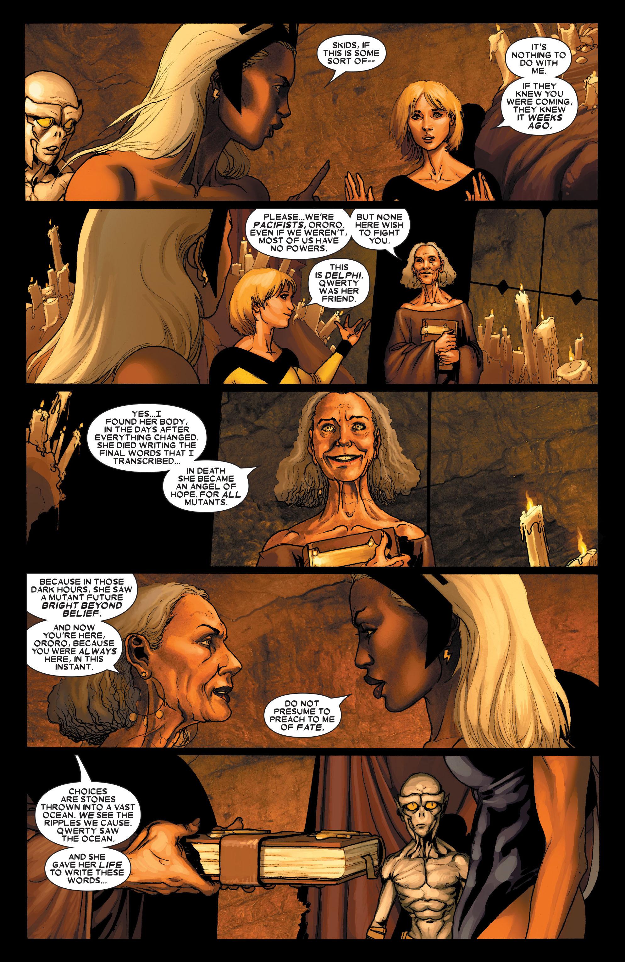 Read online Uncanny X-Men (1963) comic -  Issue #490 - 11