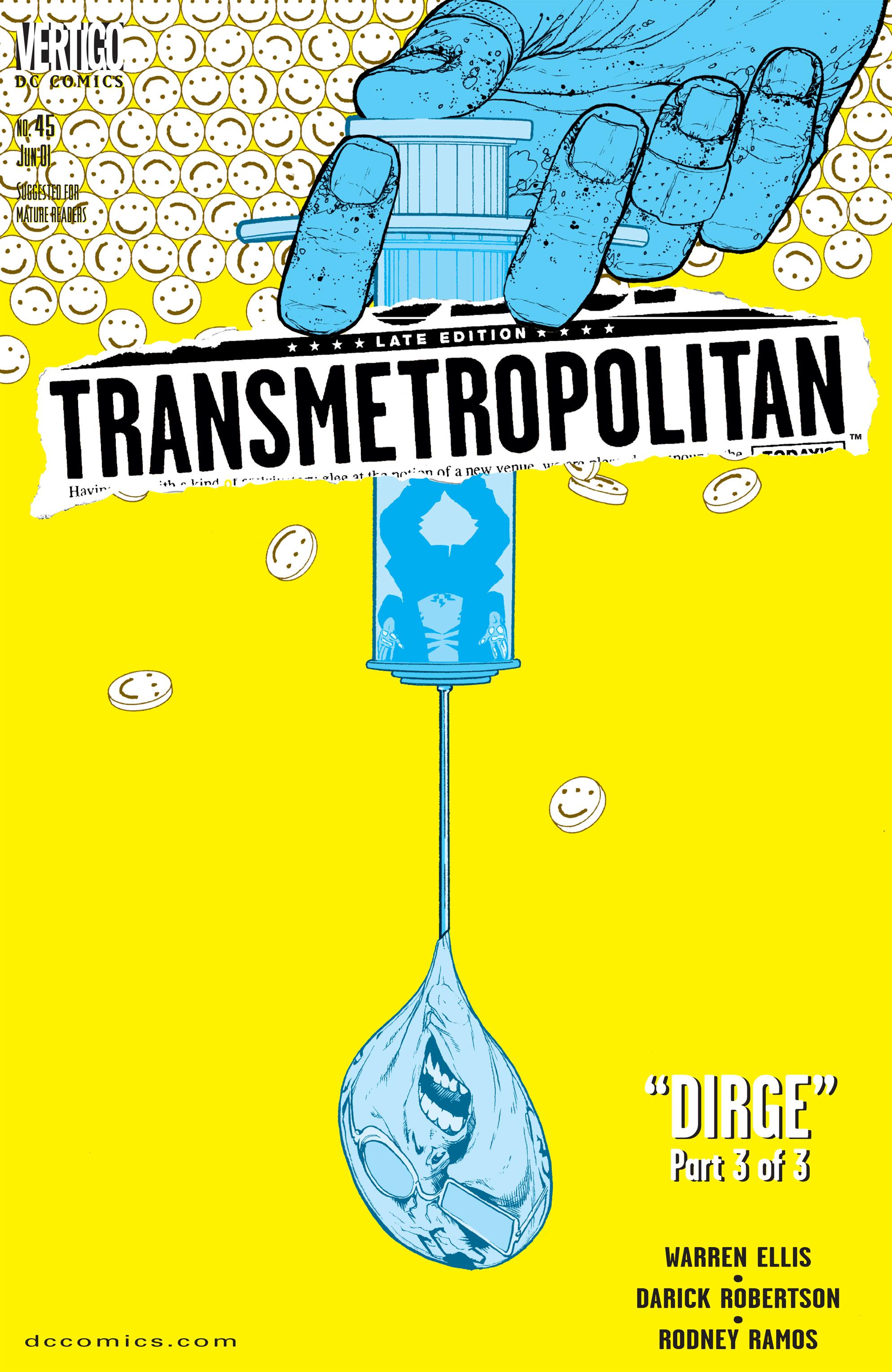 Transmetropolitan issue 45 - Page 1