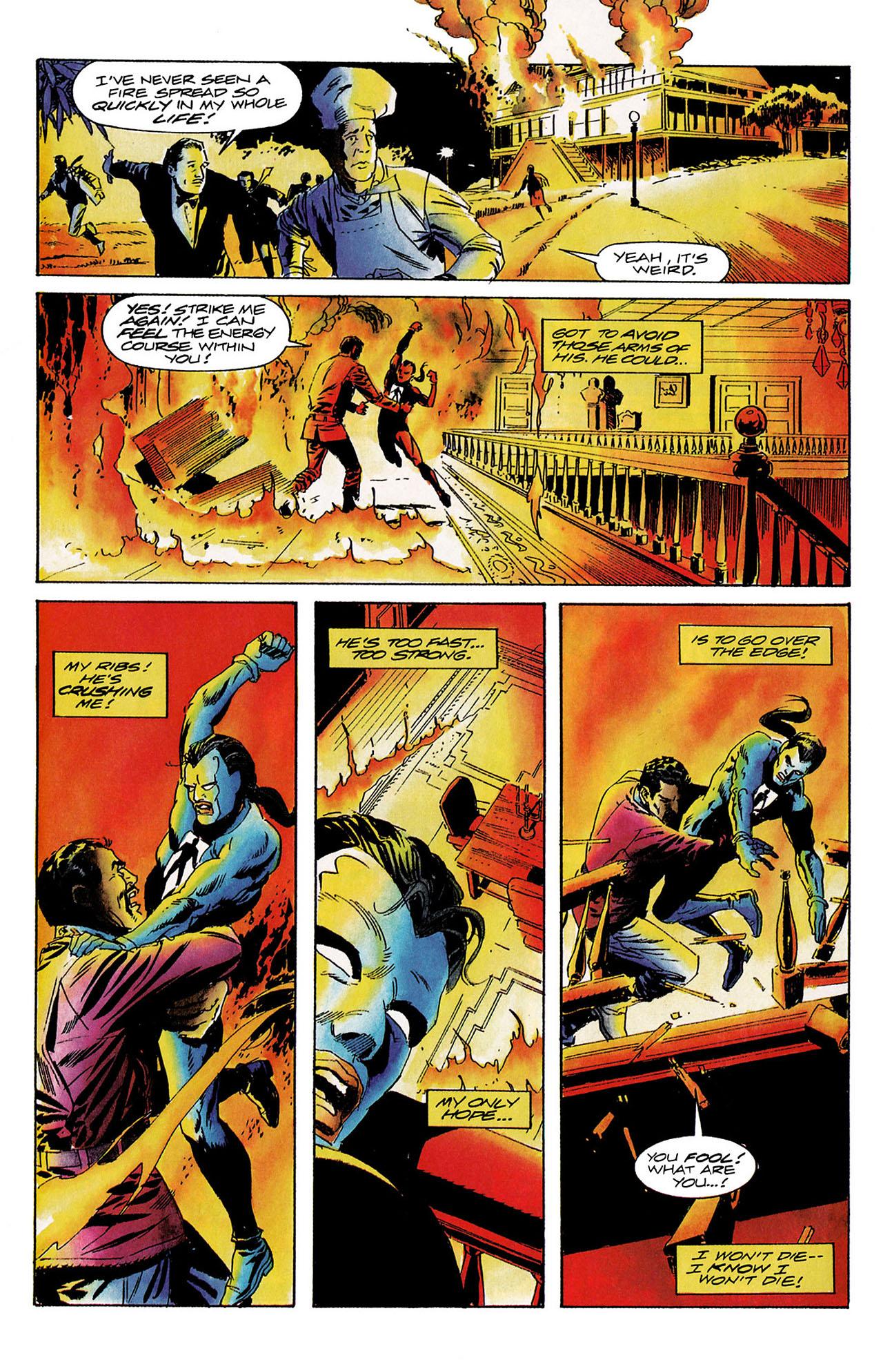 Read online Shadowman (1992) comic -  Issue #9 - 20