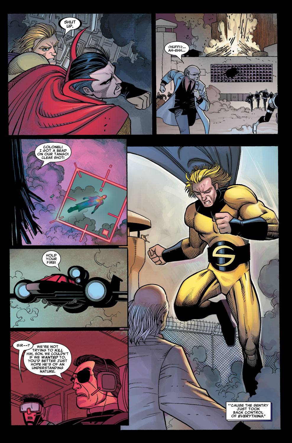 Read online Sentry (2006) comic -  Issue #7 - 18