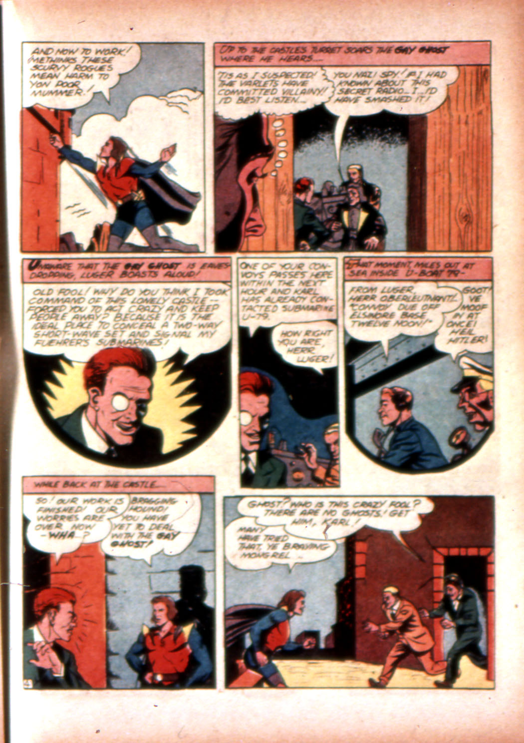 Read online Sensation (Mystery) Comics comic -  Issue #20 - 35