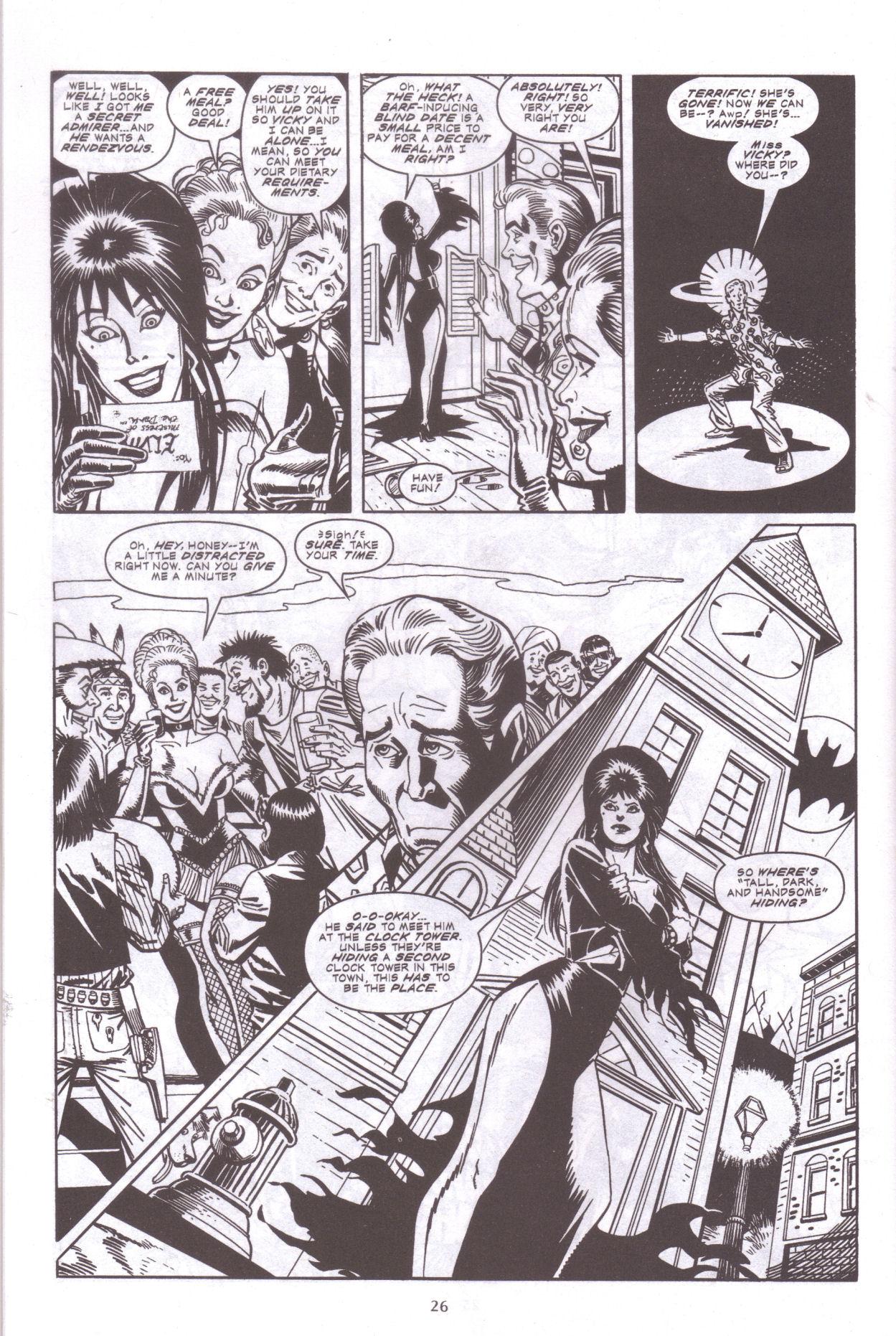 Read online Elvira, Mistress of the Dark comic -  Issue #159 - 28
